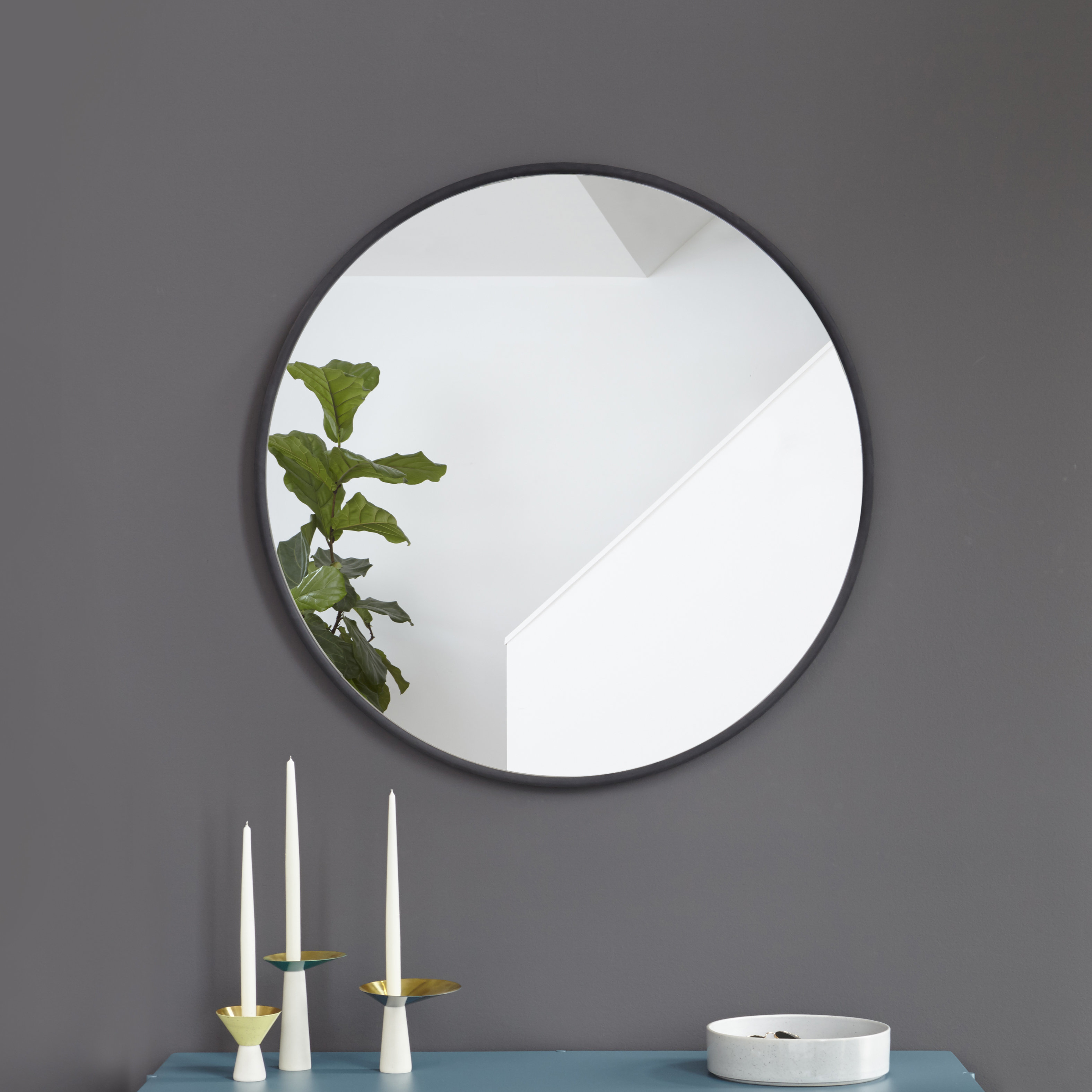 Hub Modern And Contemporary Accent Mirror Regarding Hub Modern And Contemporary Accent Mirrors (View 12 of 30)