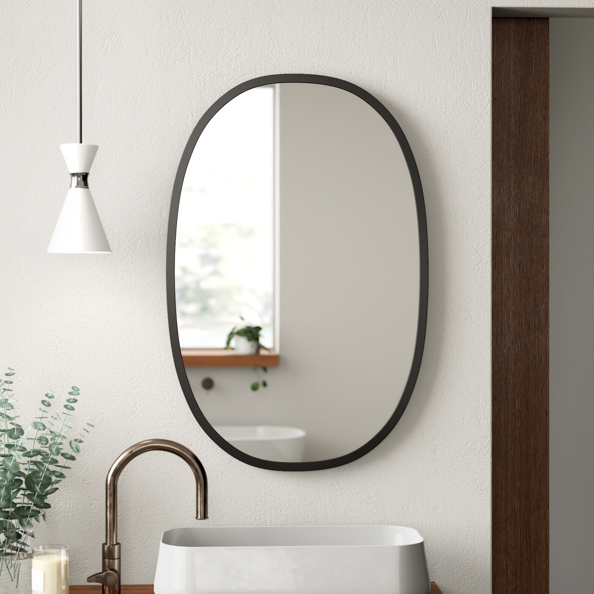 Hub Modern & Contemporary Accent Mirror within Hub Modern and Contemporary Accent Mirrors (Image 3 of 30)