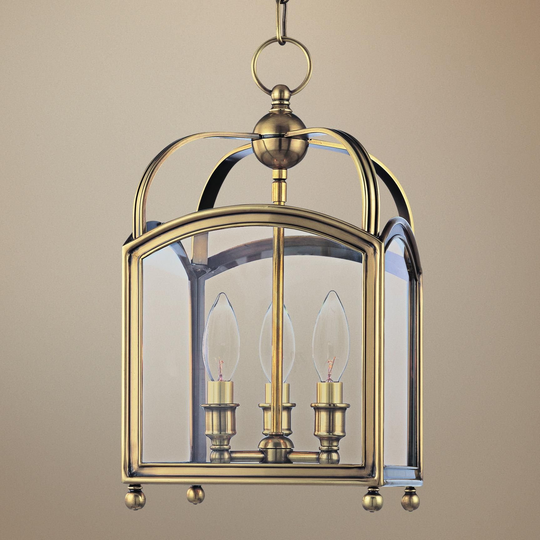 "Hudson Valley Millbrook 8 1/2"" Wide Aged Brass Pendant Light With Regard To Millbrook 5 Light Shaded Chandeliers (View 13 of 30)"