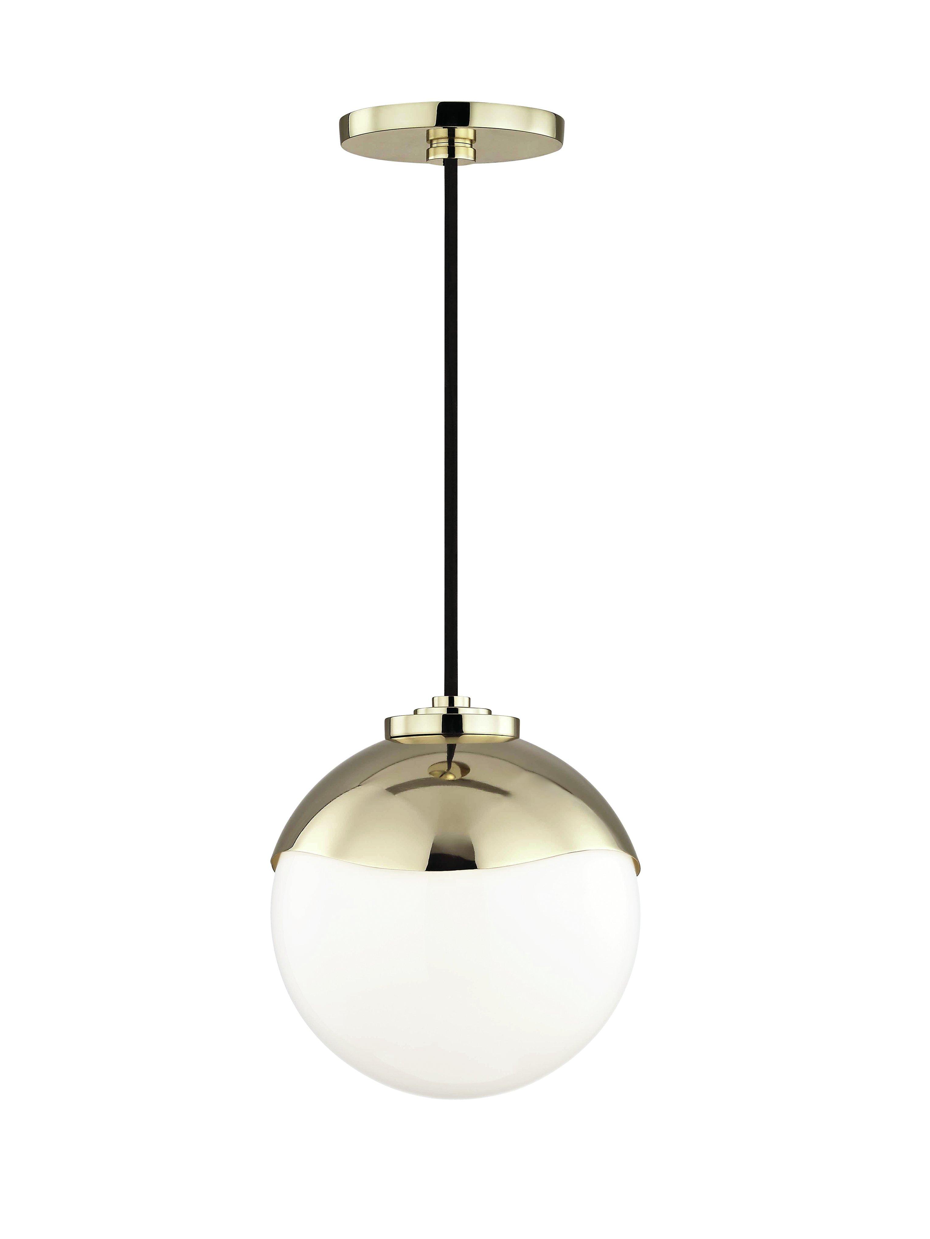 Hunter 1 Light Globe Pendant With Regard To Devereaux 1 Light Single Globe Pendants (View 7 of 30)