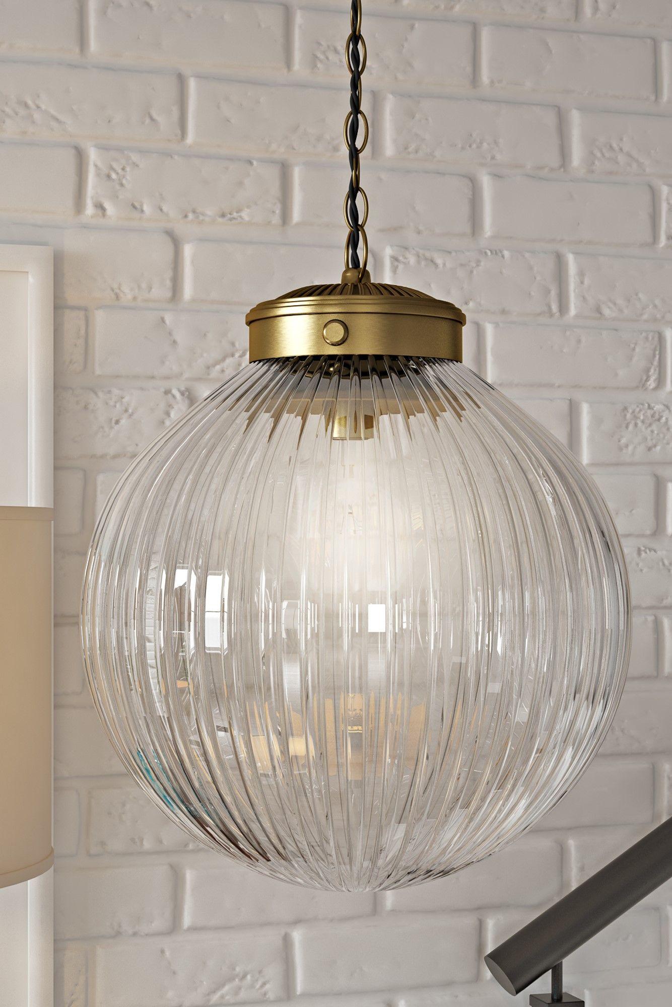Hurst 1 Light Globe Pendant | Decorating In 2019 | Pendant Intended For 1 Light Globe Pendants (View 20 of 30)