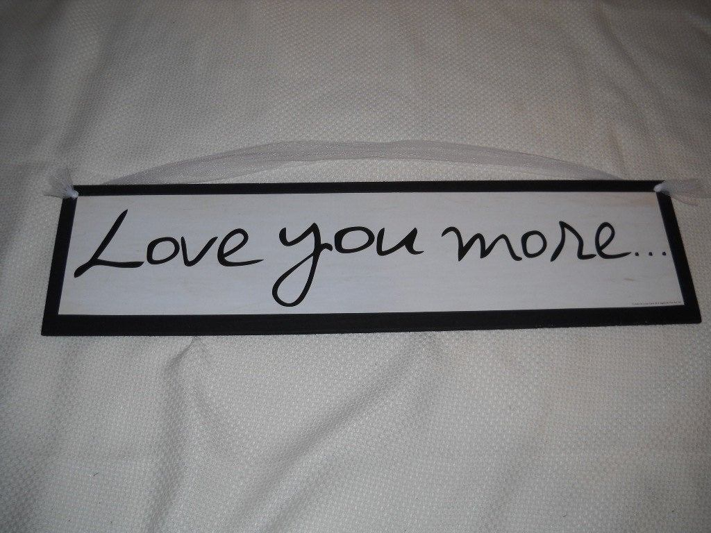 I Love You More Wall Art - Ronniebrownlifesystems for 'love You More' Wood Wall Decor (Image 15 of 30)