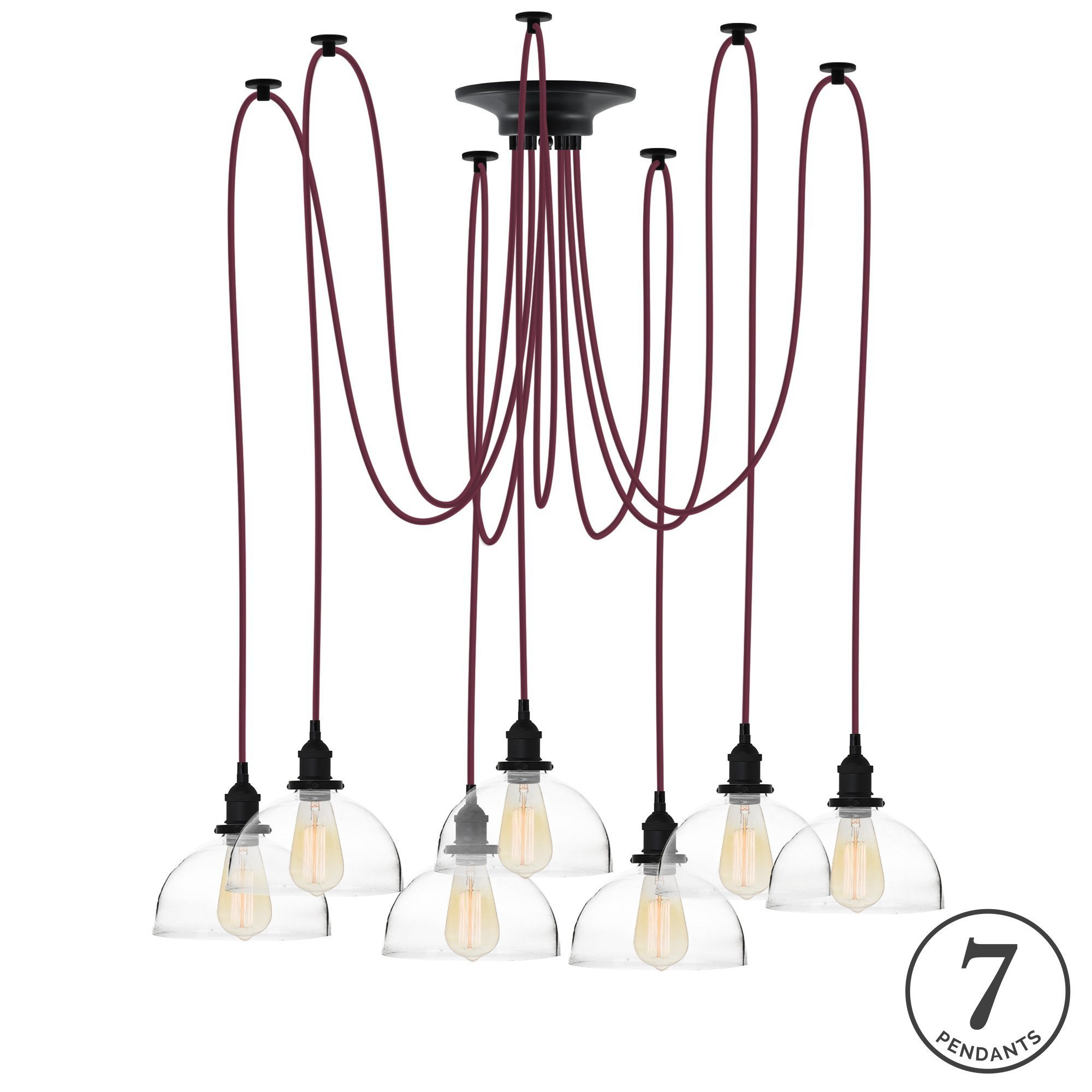 Ian 7 Light Cluster Pendant With Regard To Gattilier 3 Light Cluster Pendants (View 4 of 30)