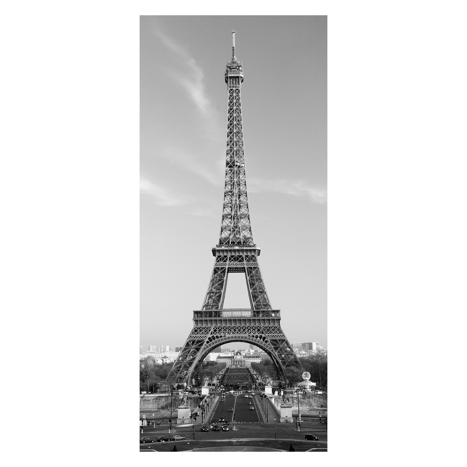 Ideal Décor La Tour Eiffel Wall Mural With Regard To Latour Wall Decor (View 14 of 30)
