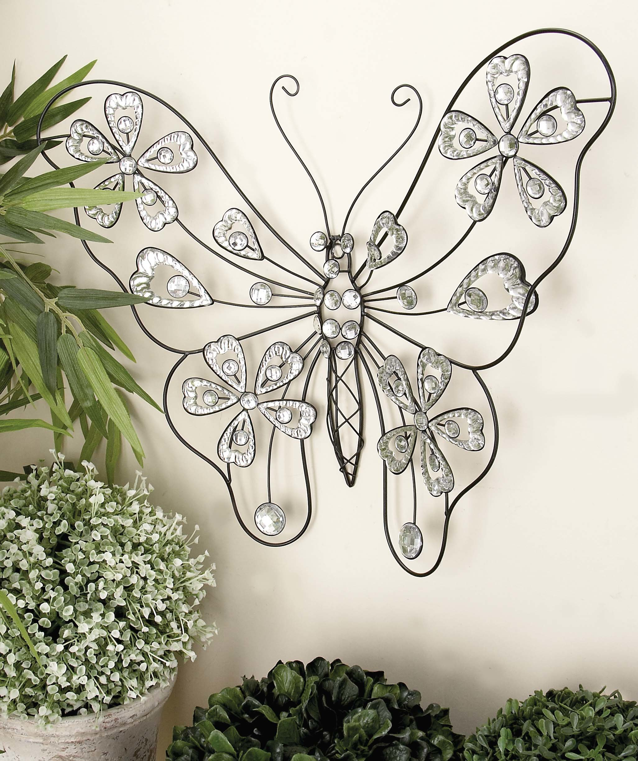 Ideas: Dazzling Butterfly Wall Decor Wall Art Design For Regarding Wall Decor By Cole & Grey (View 24 of 30)