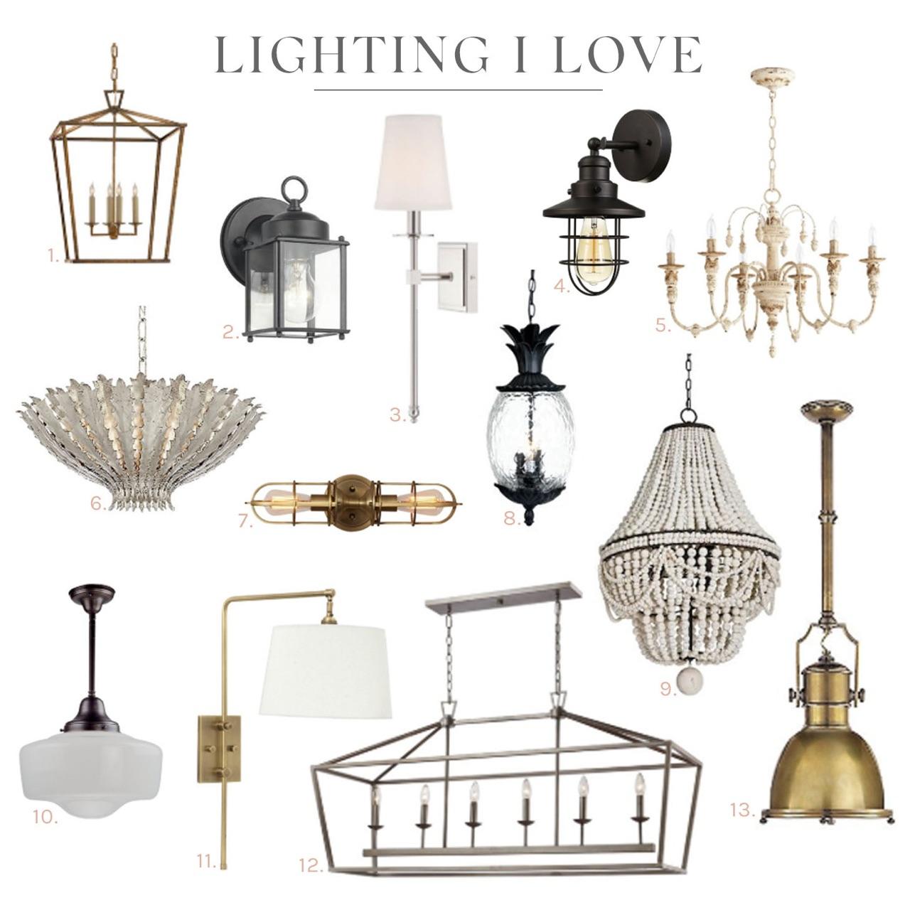 In My Home: Lighting I Love In Carmen 6 Light Kitchen Island Linear Pendants (View 18 of 30)