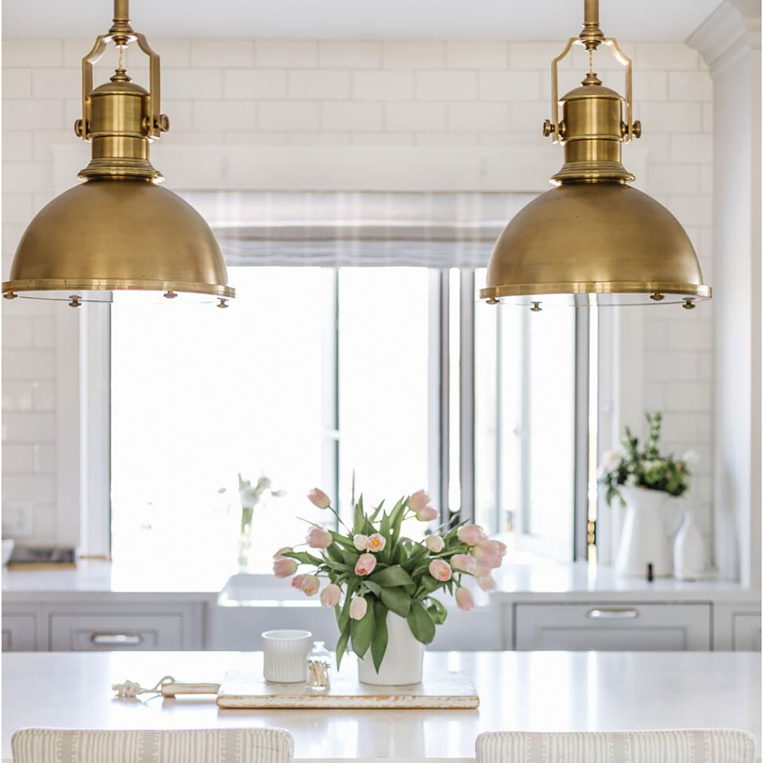 In My Home: Lighting I Love with Carmen 6-Light Kitchen Island Linear Pendants (Image 20 of 30)