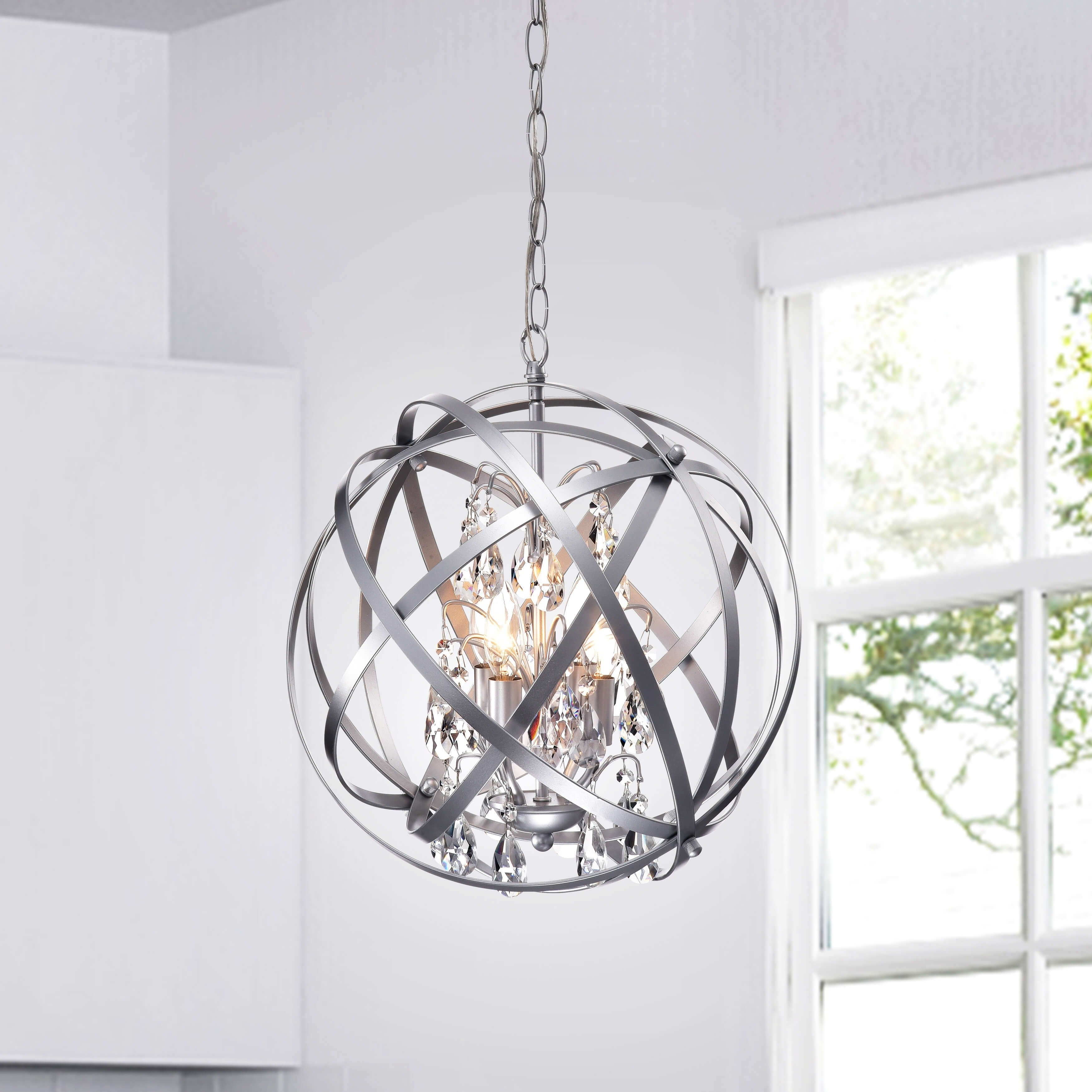 Industrial Lighting & Ceiling Fans | Find Great Deals with regard to Delon 4-Light Square Chandeliers (Image 16 of 30)