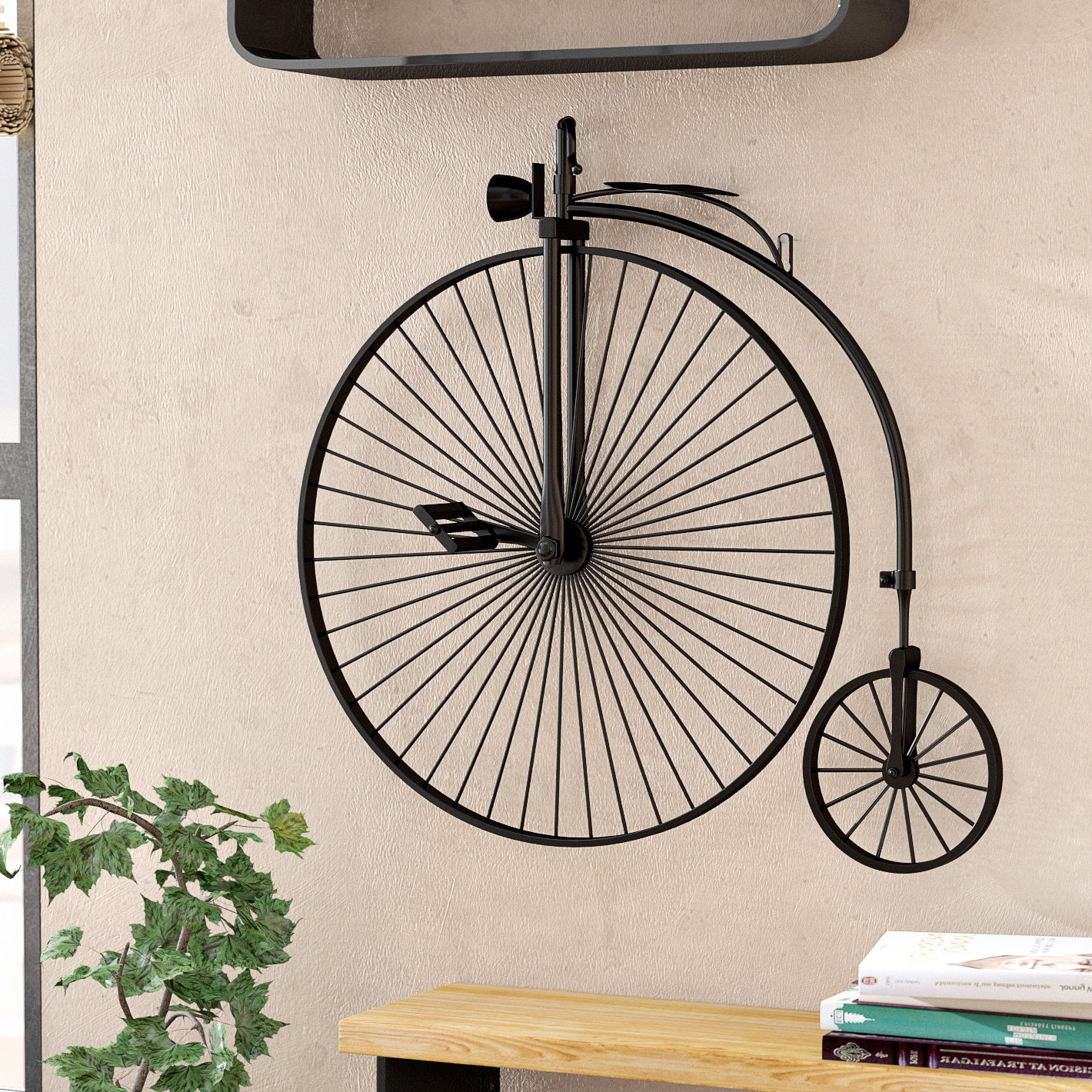 Industrial Metal Bicycle Wall Décor With Bike Wall Decor By August Grove (View 7 of 30)
