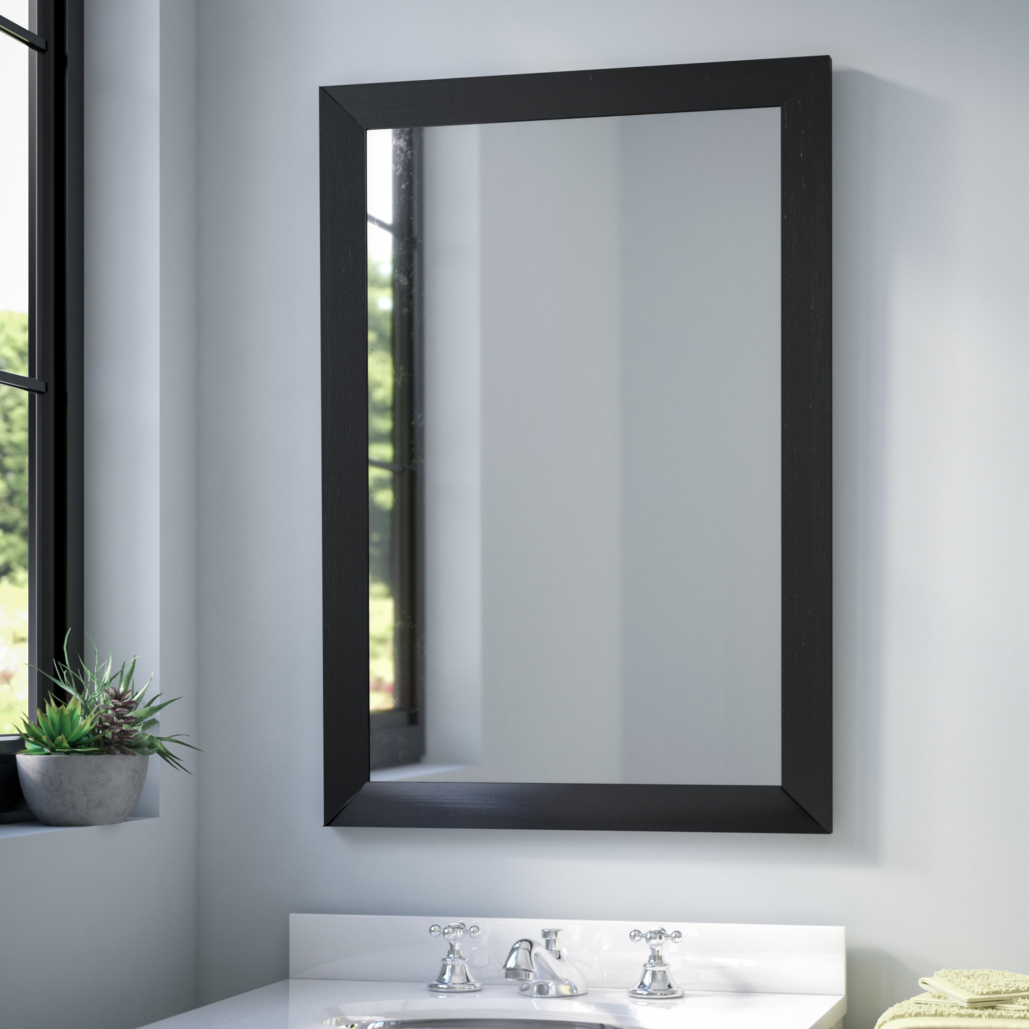 Popular Photo of Industrial Modern & Contemporary Wall Mirrors