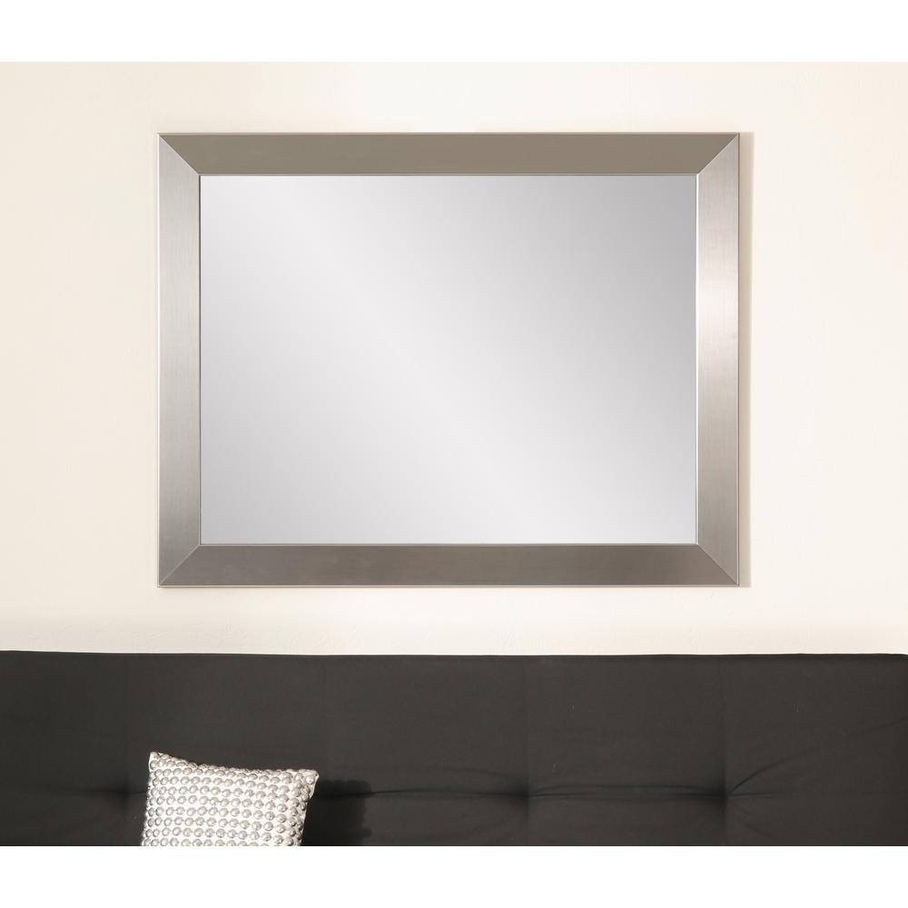 Industrial Modern Home Accent Wall Mirror Throughout Rectangle Accent Wall Mirrors (View 24 of 30)