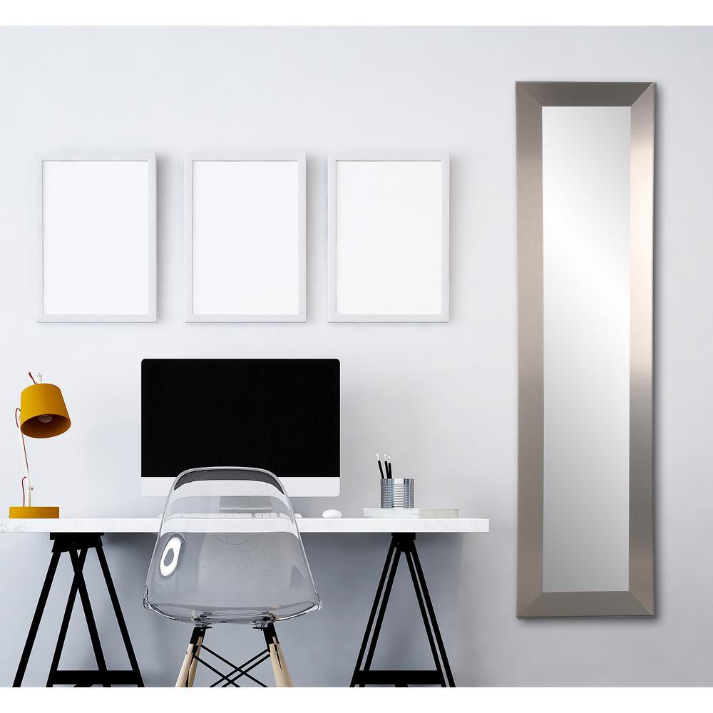 Industrial Modern Slim Floor Mirror In Industrial Full Length Mirrors (View 17 of 30)