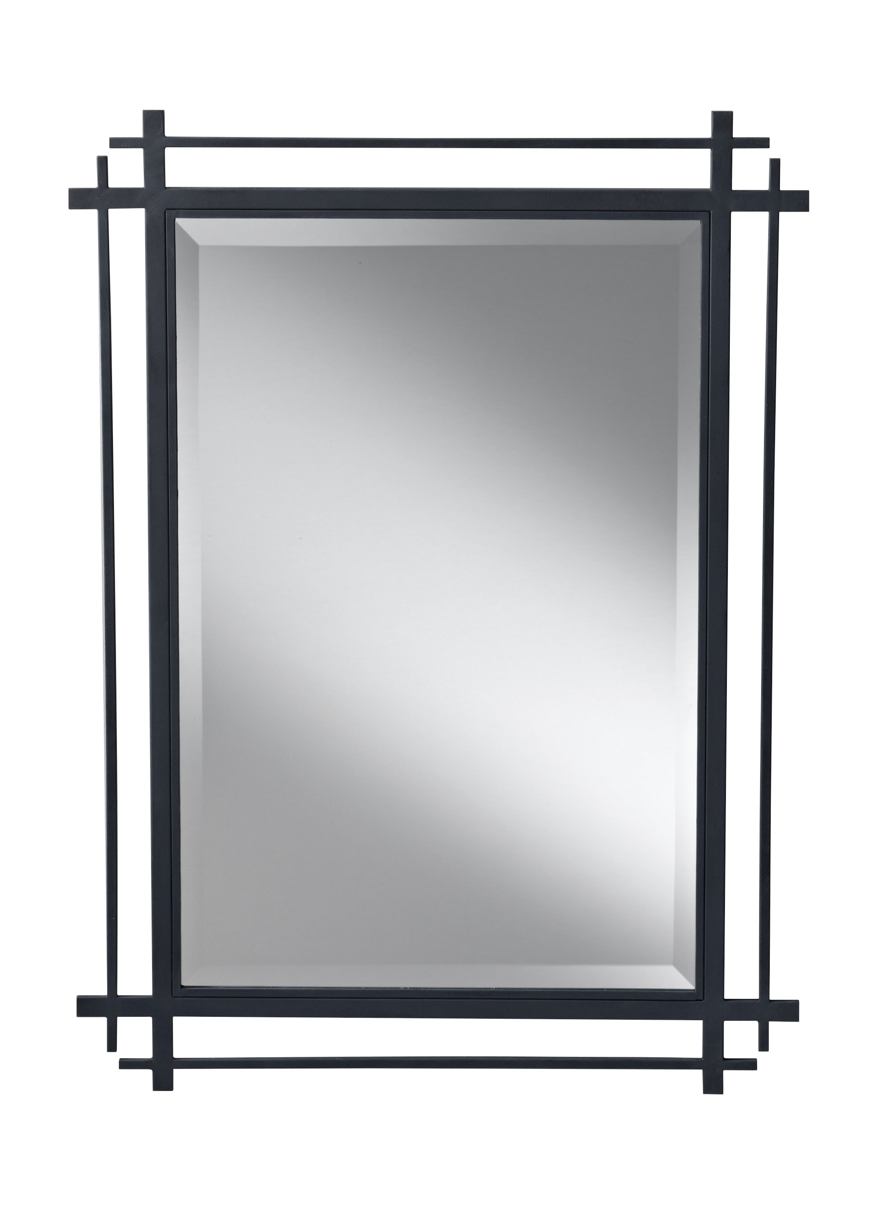 Industrial Wall & Accent Mirrors | Birch Lane with regard to Koeller Industrial Metal Wall Mirrors (Image 12 of 30)