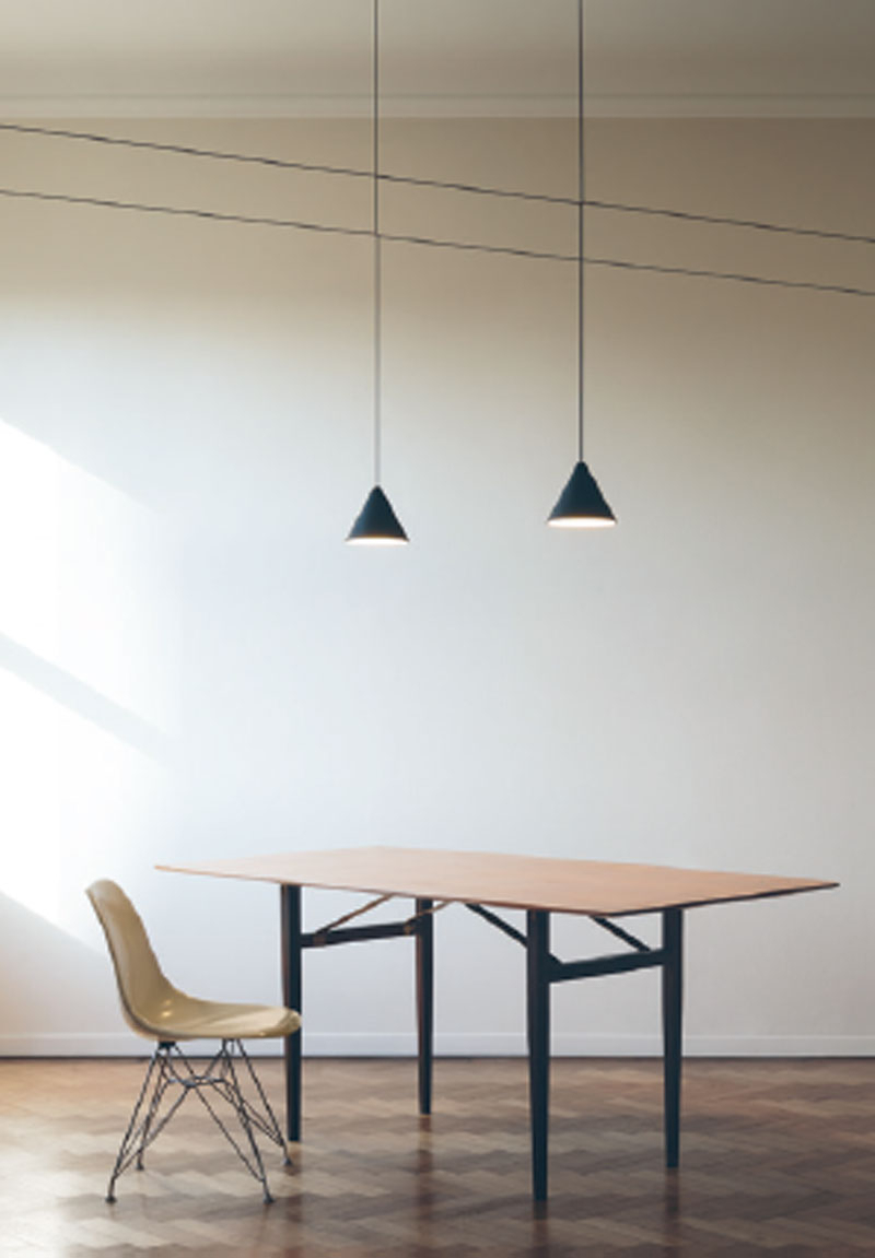 Installation Gallery | | Flos Lighting intended for Moris 1-Light Cone Pendants (Image 16 of 30)