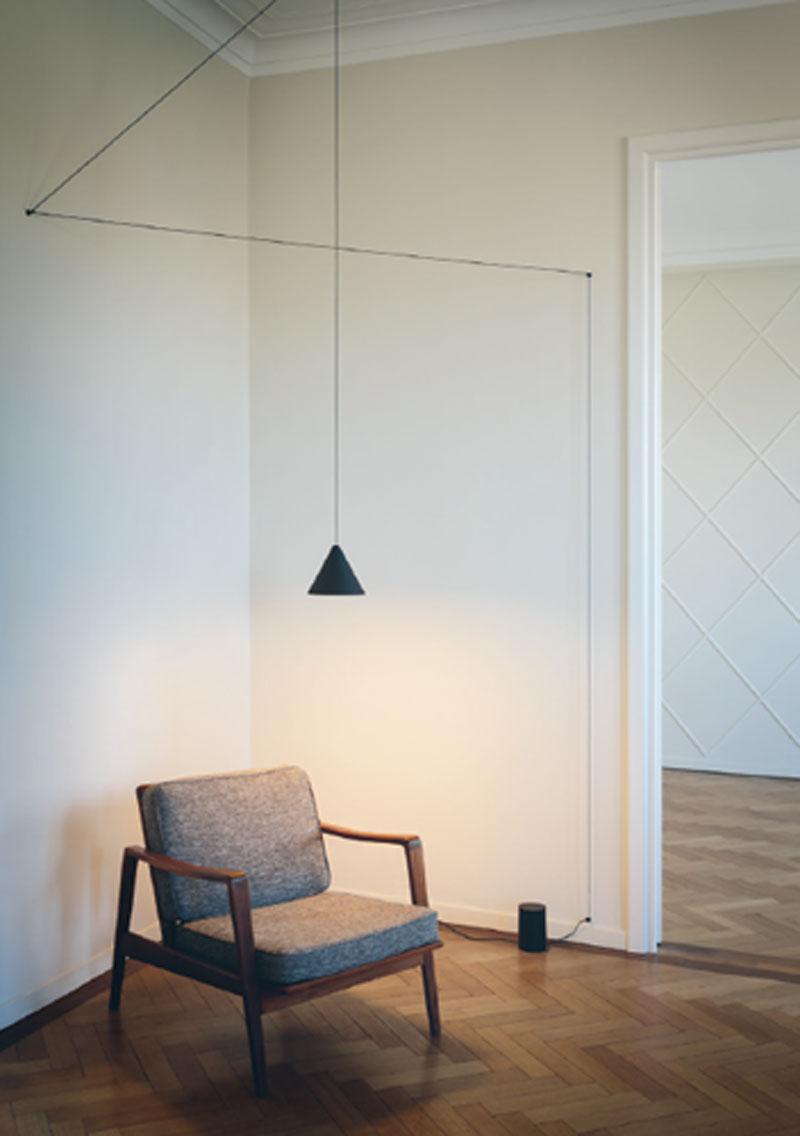 Installation Gallery     Flos Lighting Pertaining To Moris 1 Light Cone Pendants (View 17 of 30)
