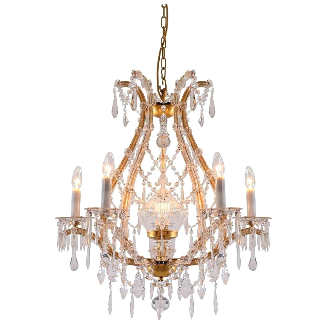 Iron And Crystal Chandelier – Ozieaquilar (Image 16 of 30)