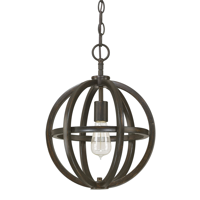 Featured Photo of Irwin 1 Light Single Globe Pendants
