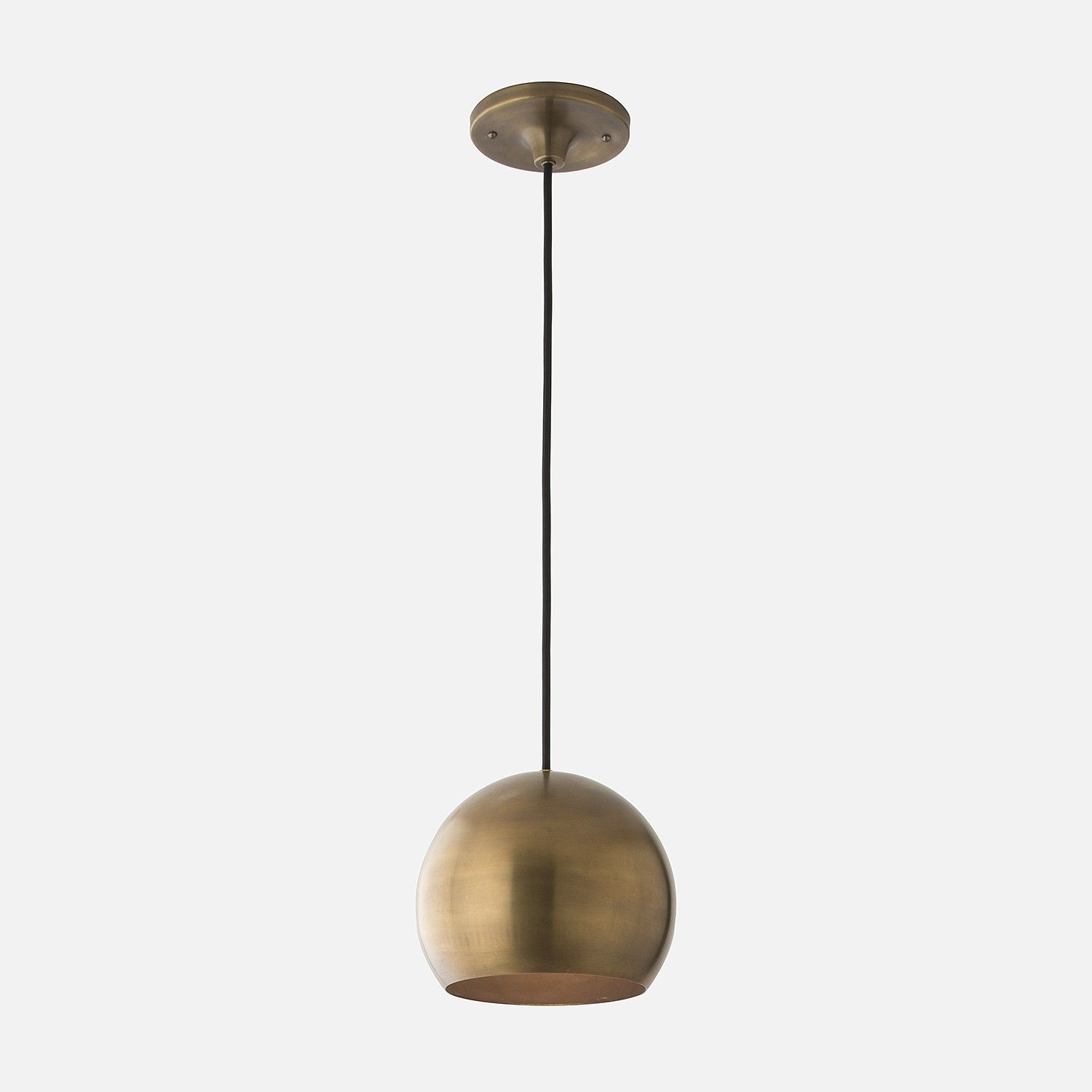 Isaac Pendant | L I G H T I N G + H A R D W A R E | Brass Within Knoxville 1 Light Single Teardrop Pendants (View 11 of 30)