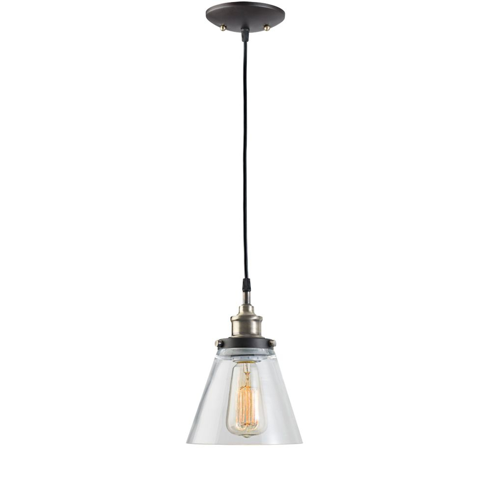 Jackson 1 Light Antique Brass & Brown Vintage Edison Hanging Intended For Freeda 1 Light Single Dome Pendants (View 18 of 30)