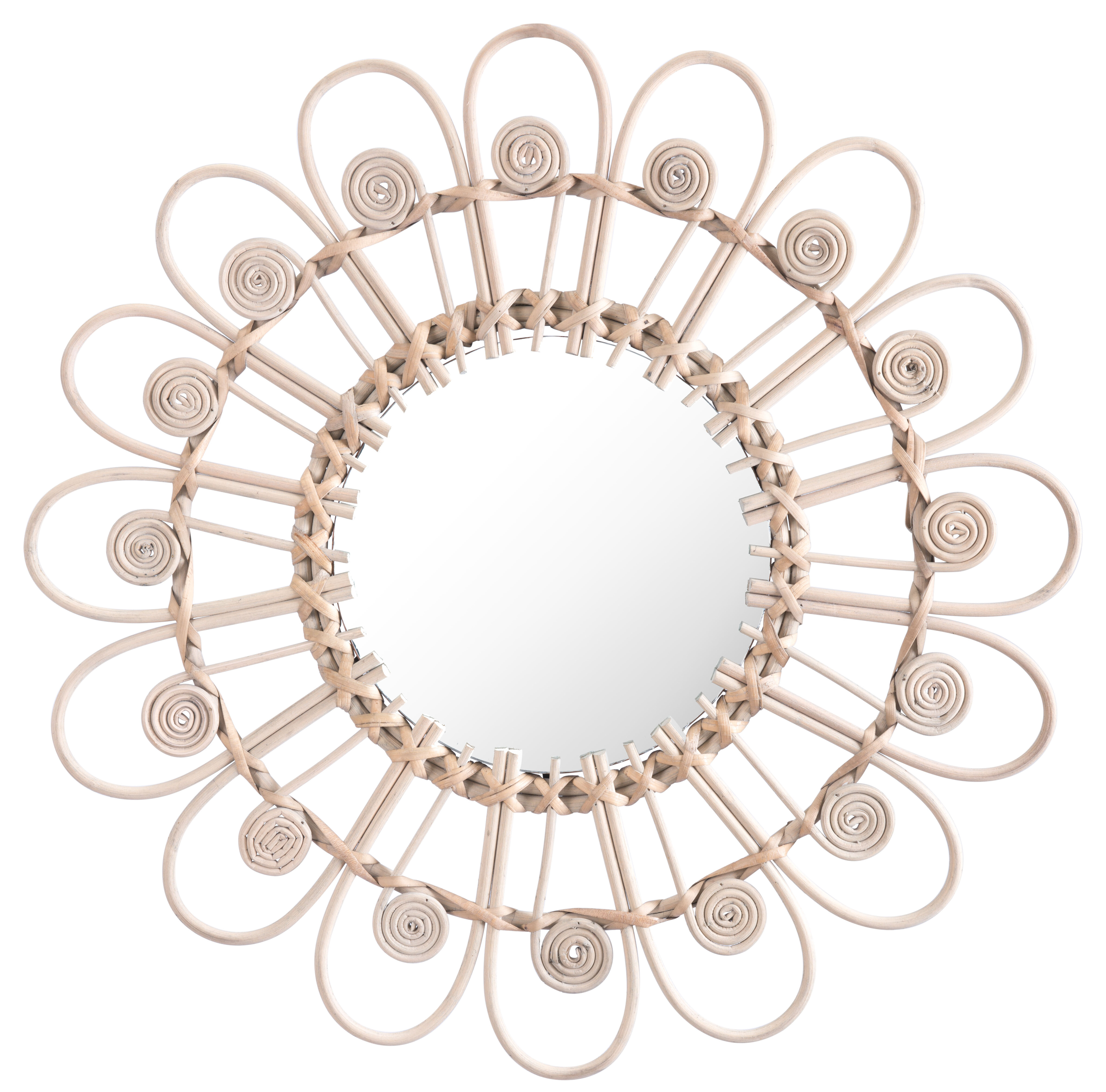 Jalynn Eclectic Accent Mirror With Regard To Round Eclectic Accent Mirrors (View 8 of 30)