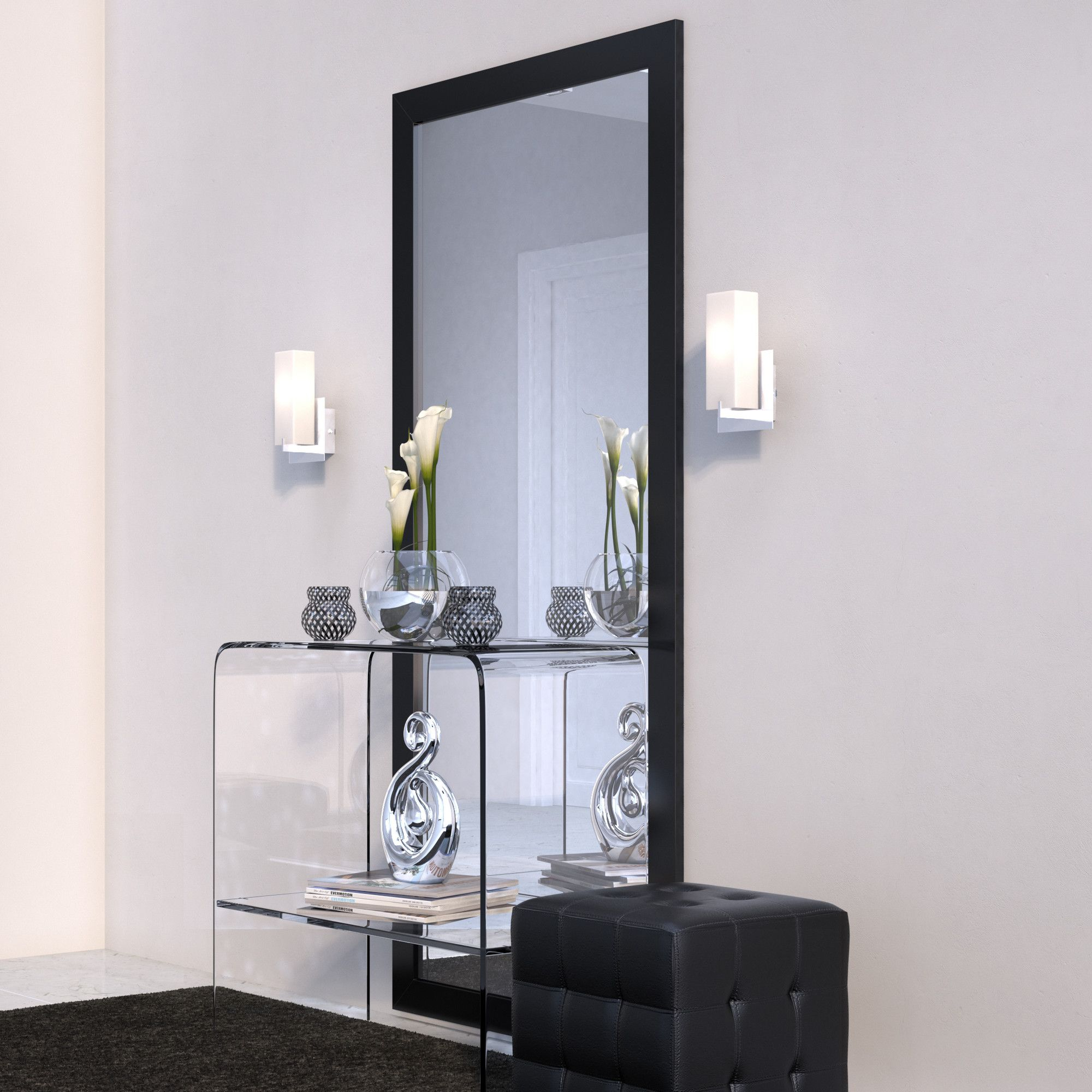 Jameson Modern & Contemporary Full Length Mirror | Products inside Jameson Modern & Contemporary Full Length Mirrors (Image 16 of 30)