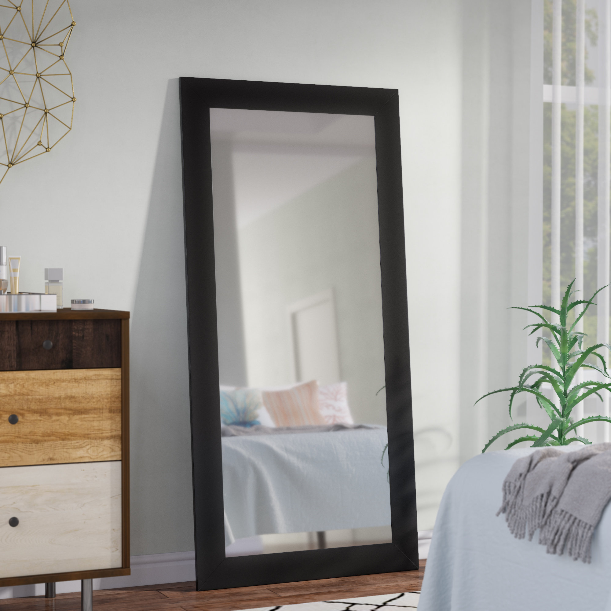 Jameson Modern & Contemporary Full Length Mirror With Dalessio Wide Tall Full Length Mirrors (View 19 of 30)