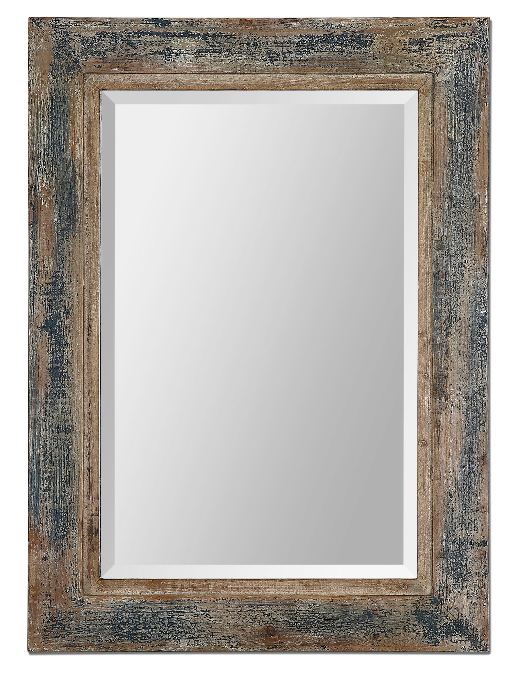 Janie Rectangular Wall Mirror Pertaining To Epinal Shabby Elegance Wall Mirrors (View 16 of 30)