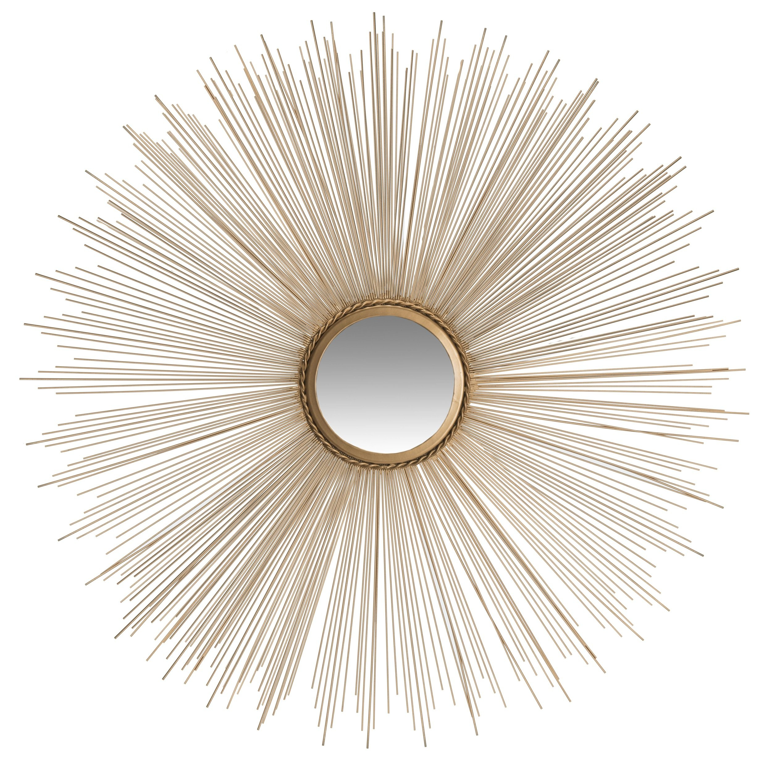 Jarrod Sunburst Accent Mirror pertaining to Jarrod Sunburst Accent Mirrors (Image 10 of 30)