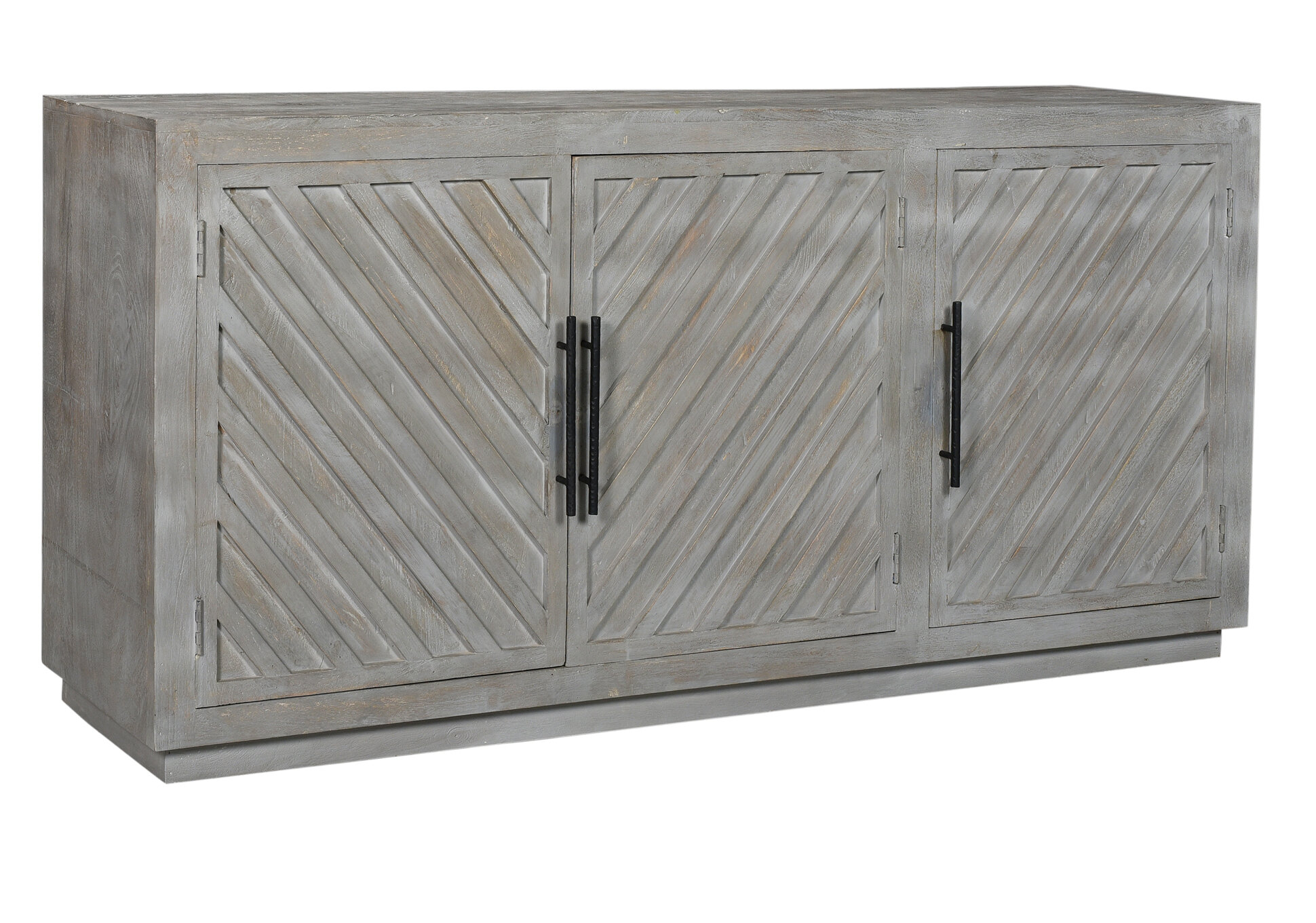 Jaynes Three Door Sideboard In Joyner Sideboards (Image 19 of 30)