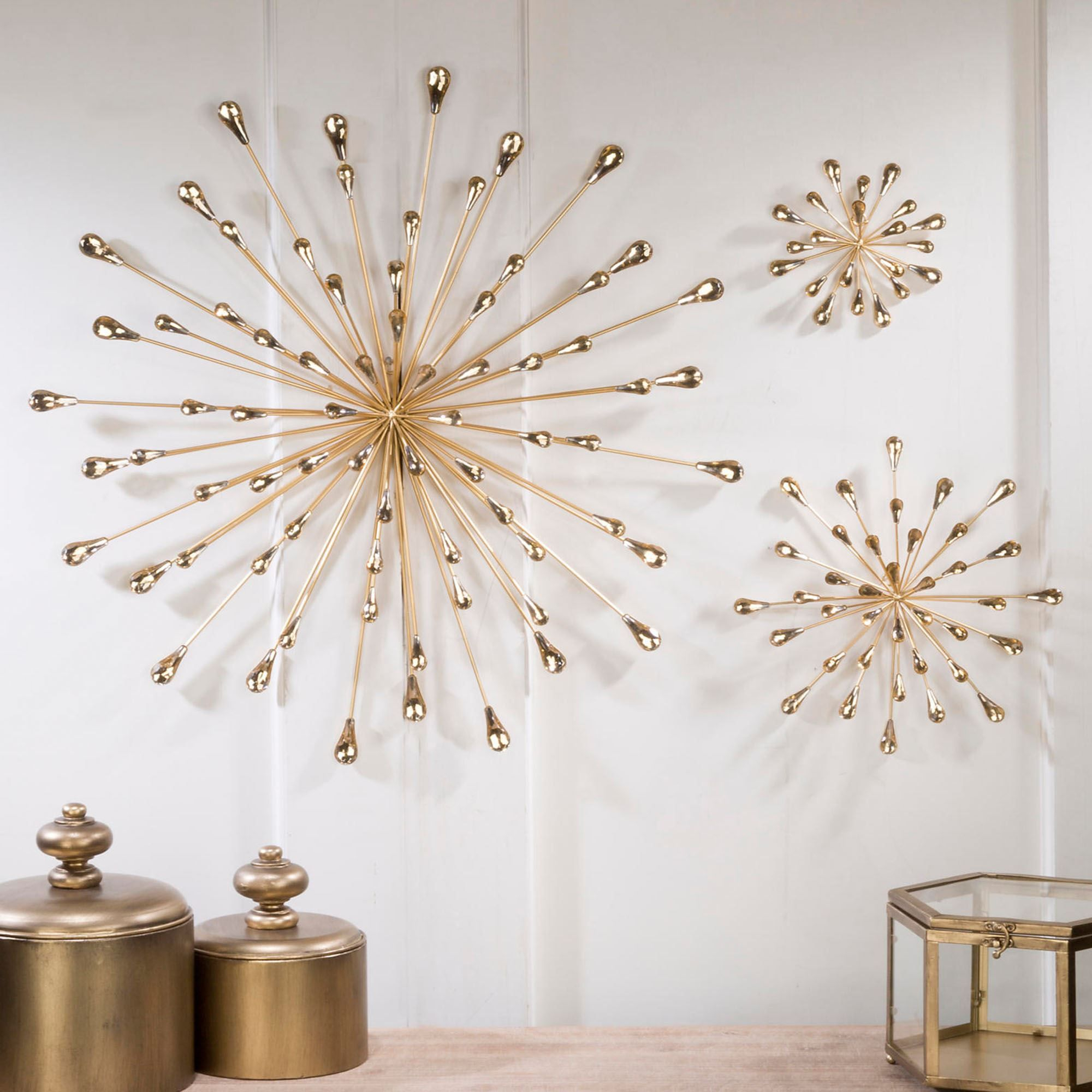 Jelena Gold Starburst Metal Wall Art | Projects In 2019 In Starburst Wall Decor By Willa Arlo Interiors (View 11 of 30)