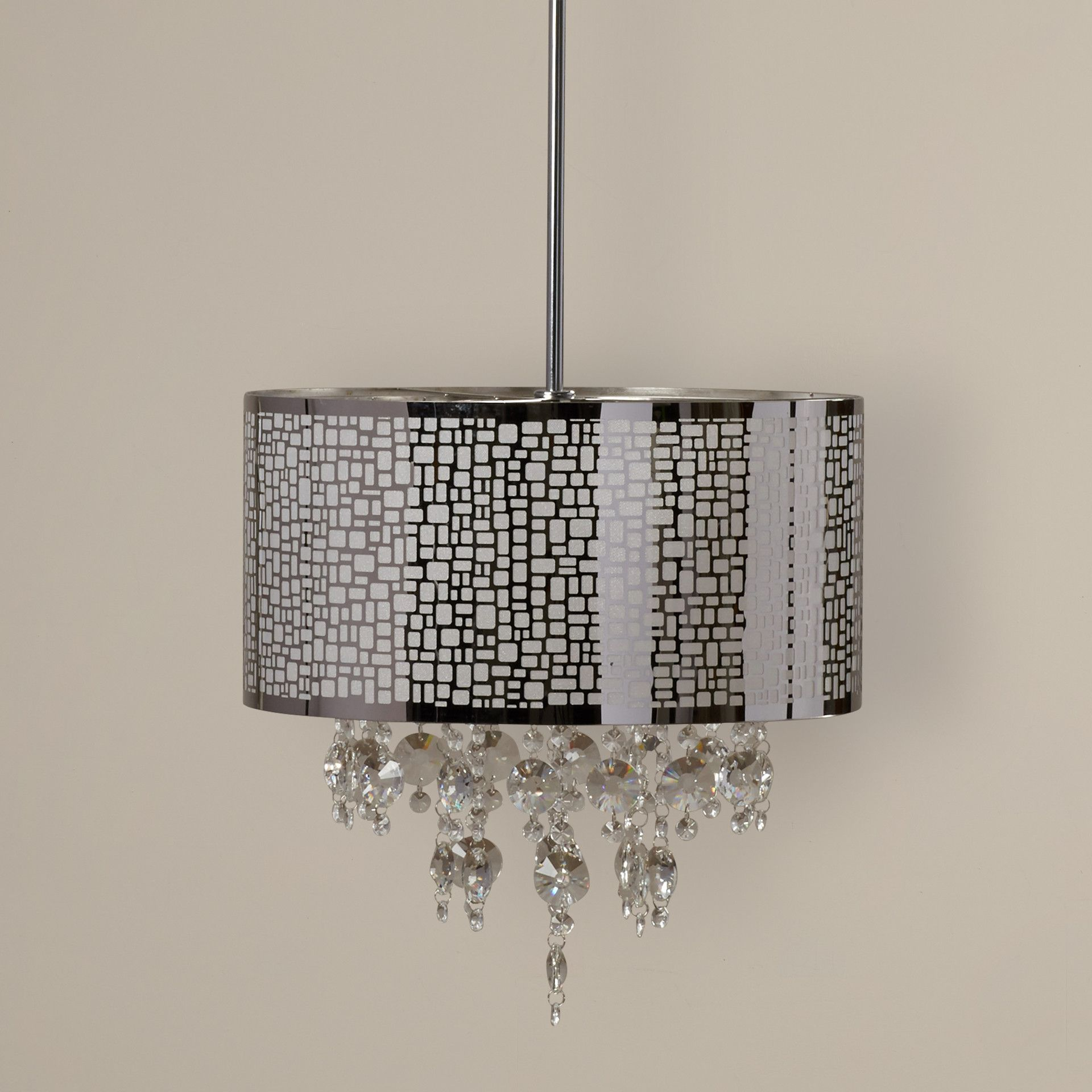Jill 4 Light Drum Chandelier | Products | Drum Chandelier With Aurore 4 Light Crystal Chandeliers (View 17 of 30)