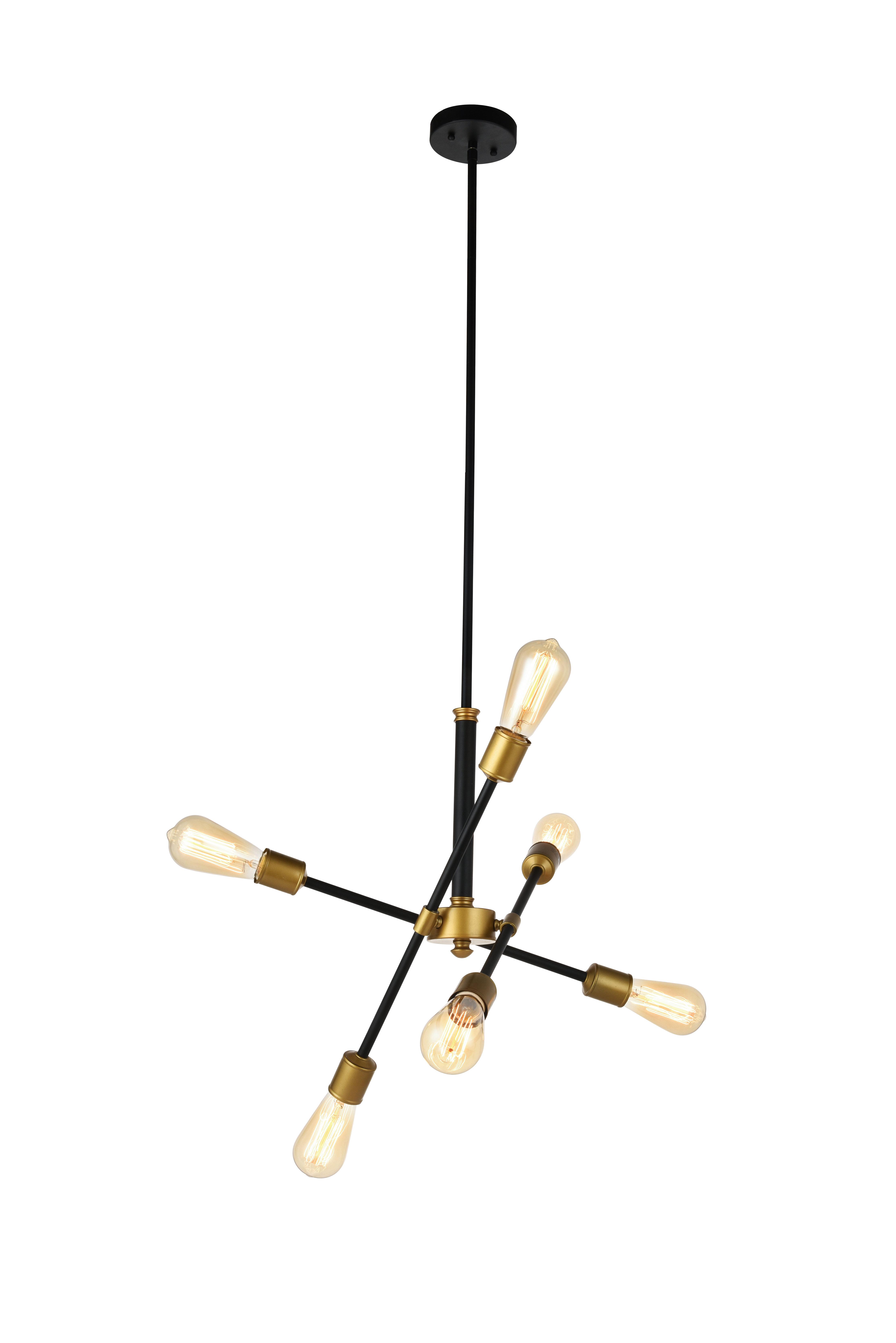 Featured Photo of Johanne 6 Light Sputnik Chandeliers