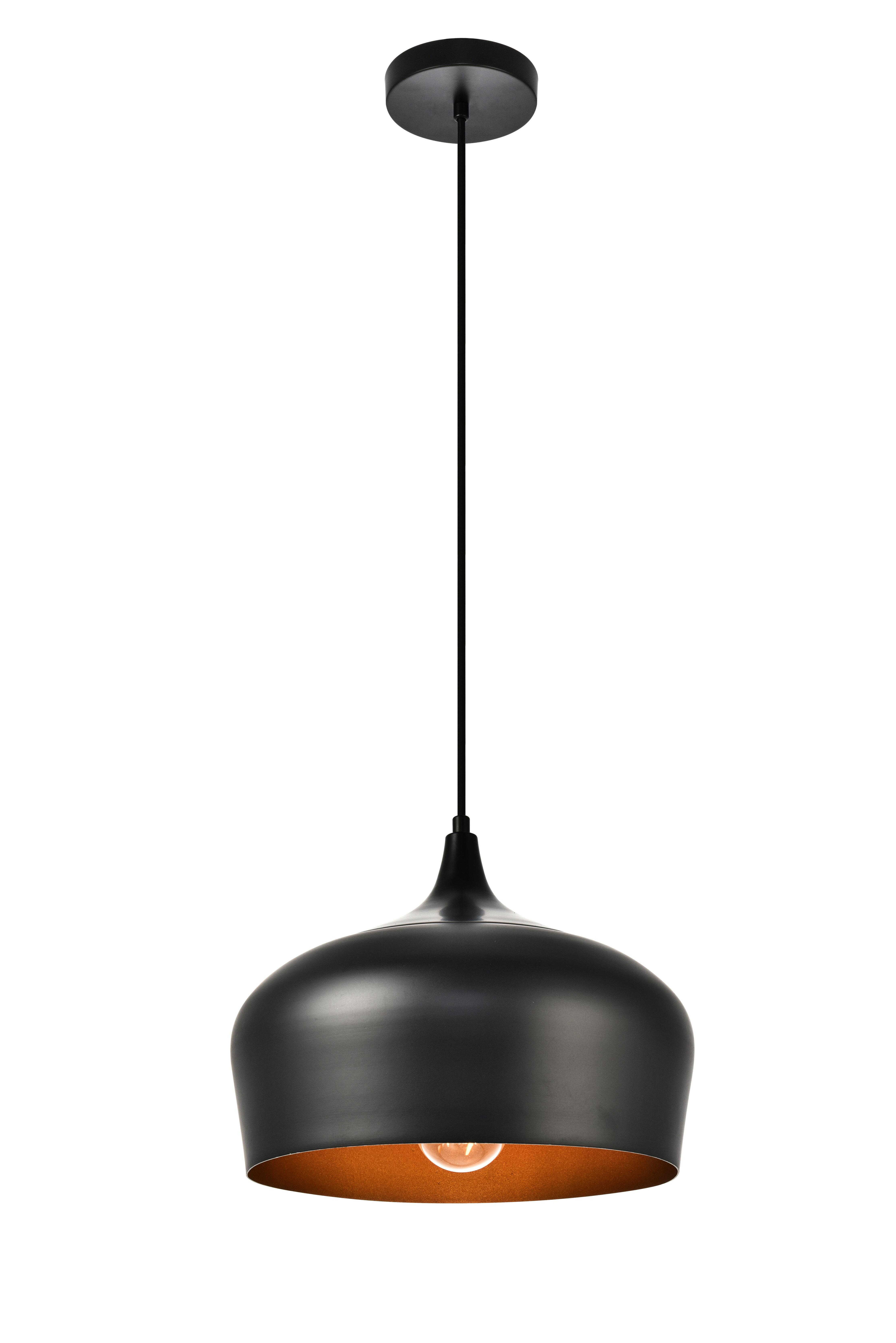 Jordan 1-Light Single Teardrop Pendant in Southlake 1-Light Single Dome Pendants (Image 17 of 30)