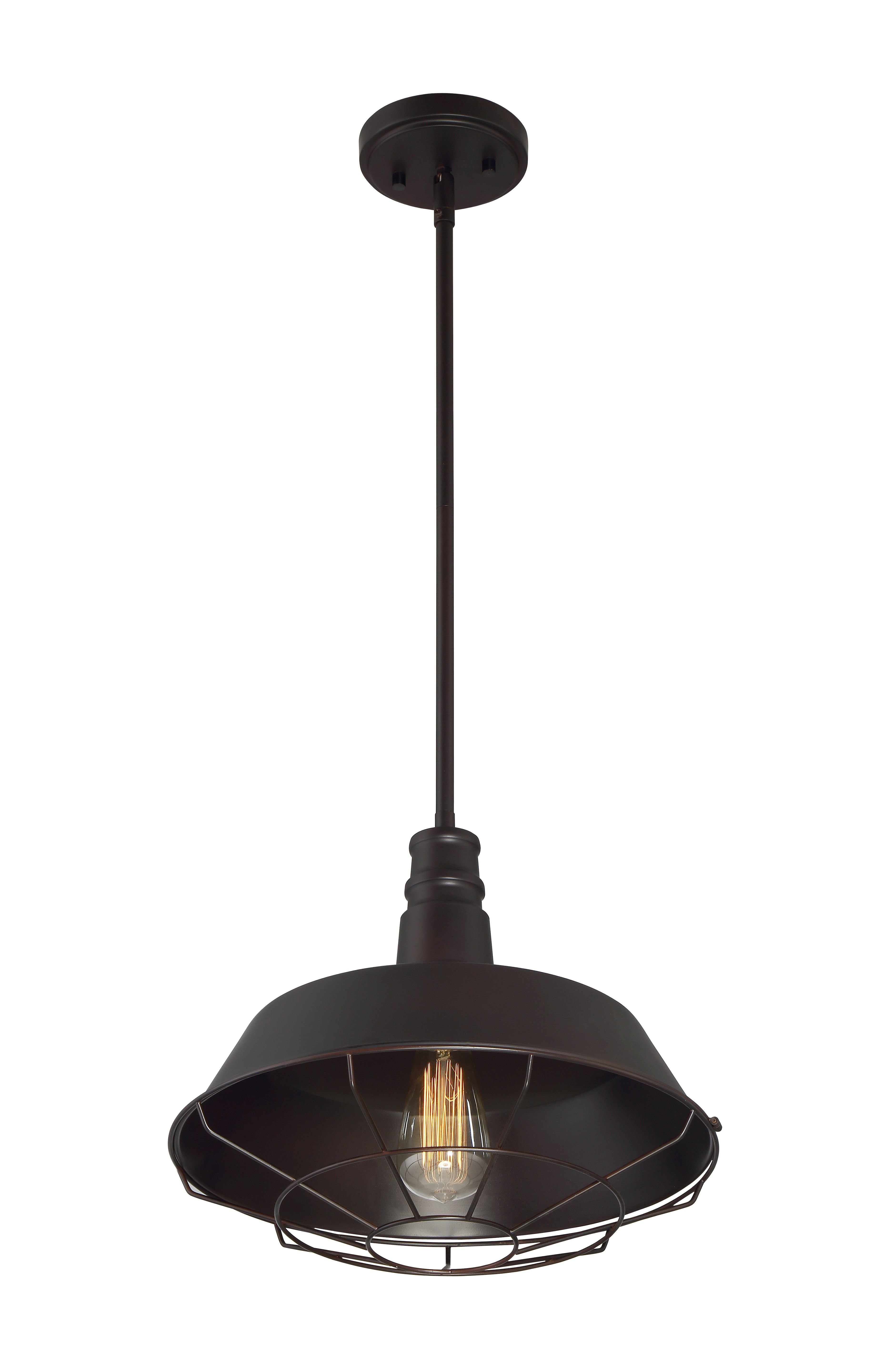 Juneau 1 Light Single Dome Pendant Intended For Barrons 1 Light Single Cylinder Pendants (View 14 of 30)