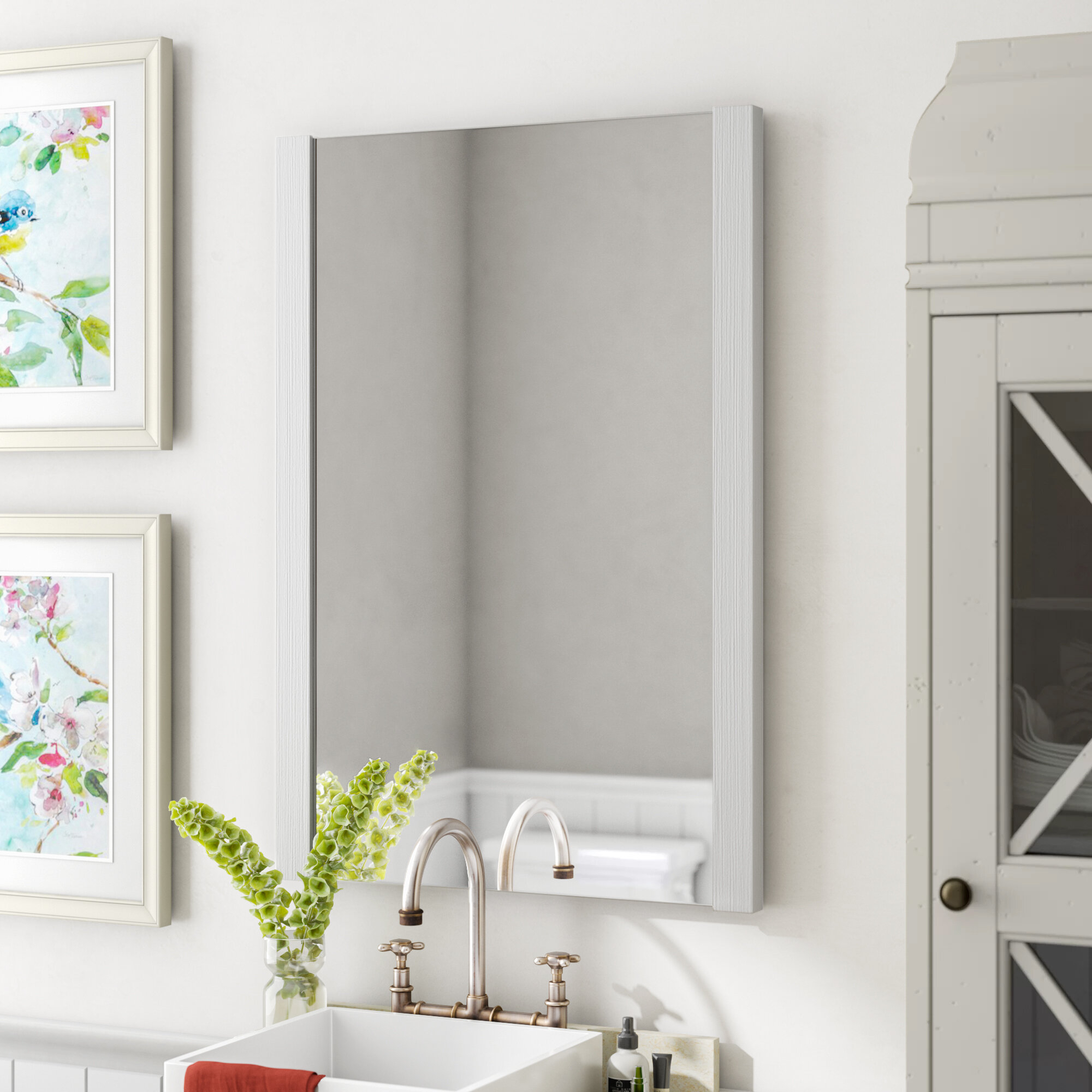 Kaleb Modern And Contemporary Accent Mirror Pertaining To Kayden Accent Mirrors (Gallery 23 of 30)