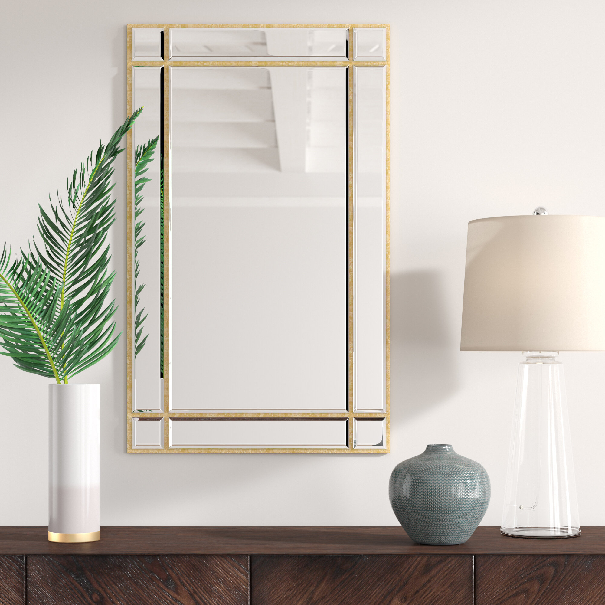 Kallas Accent Mirror pertaining to Bartolo Accent Mirrors (Image 19 of 30)