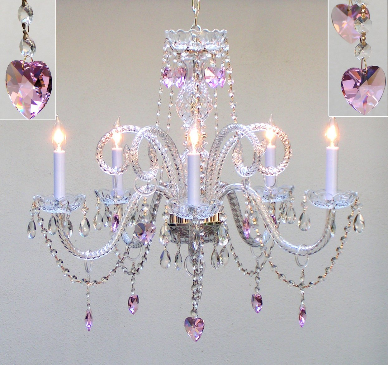 Kanter 5-Light Candle Style Chandelier for Shaylee 5-Light Candle Style Chandeliers (Image 11 of 30)