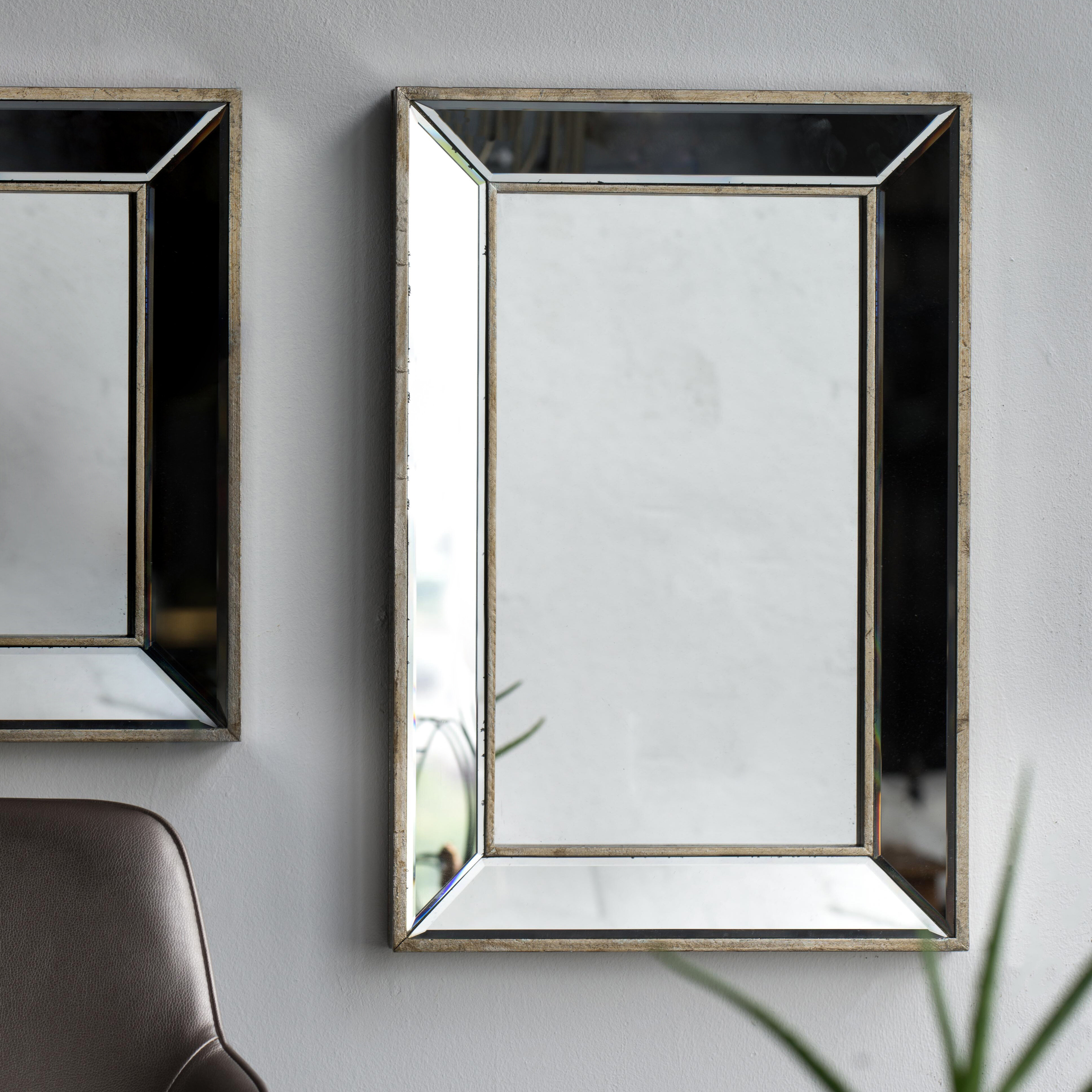 Kapp Rectangle Accent Wall Mirror Pertaining To Rectangle Accent Wall Mirrors (Photo 3 of 30)