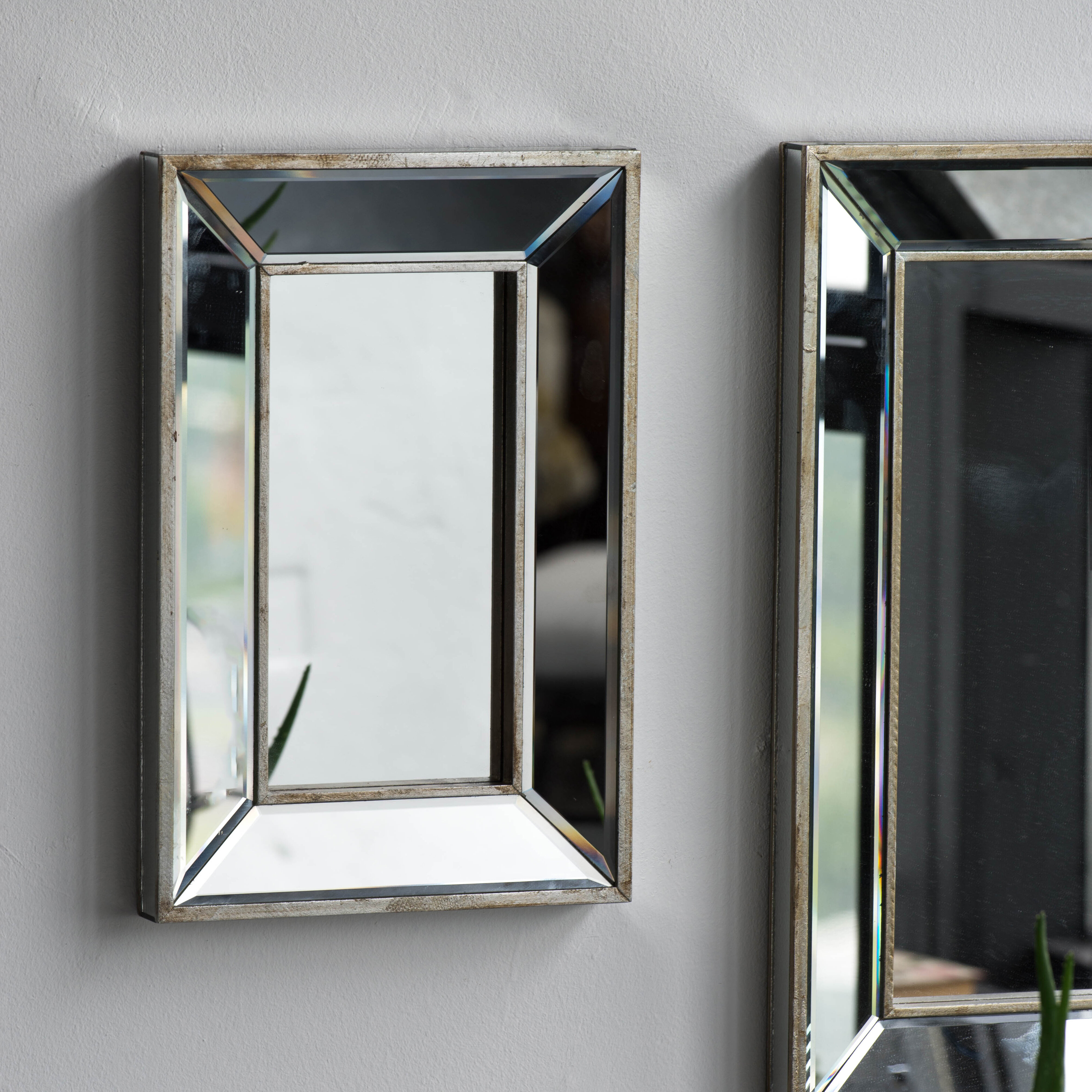 Kapp Rectangle Accent Wall Mirror With Rectangle Accent Wall Mirrors (Photo 20 of 30)