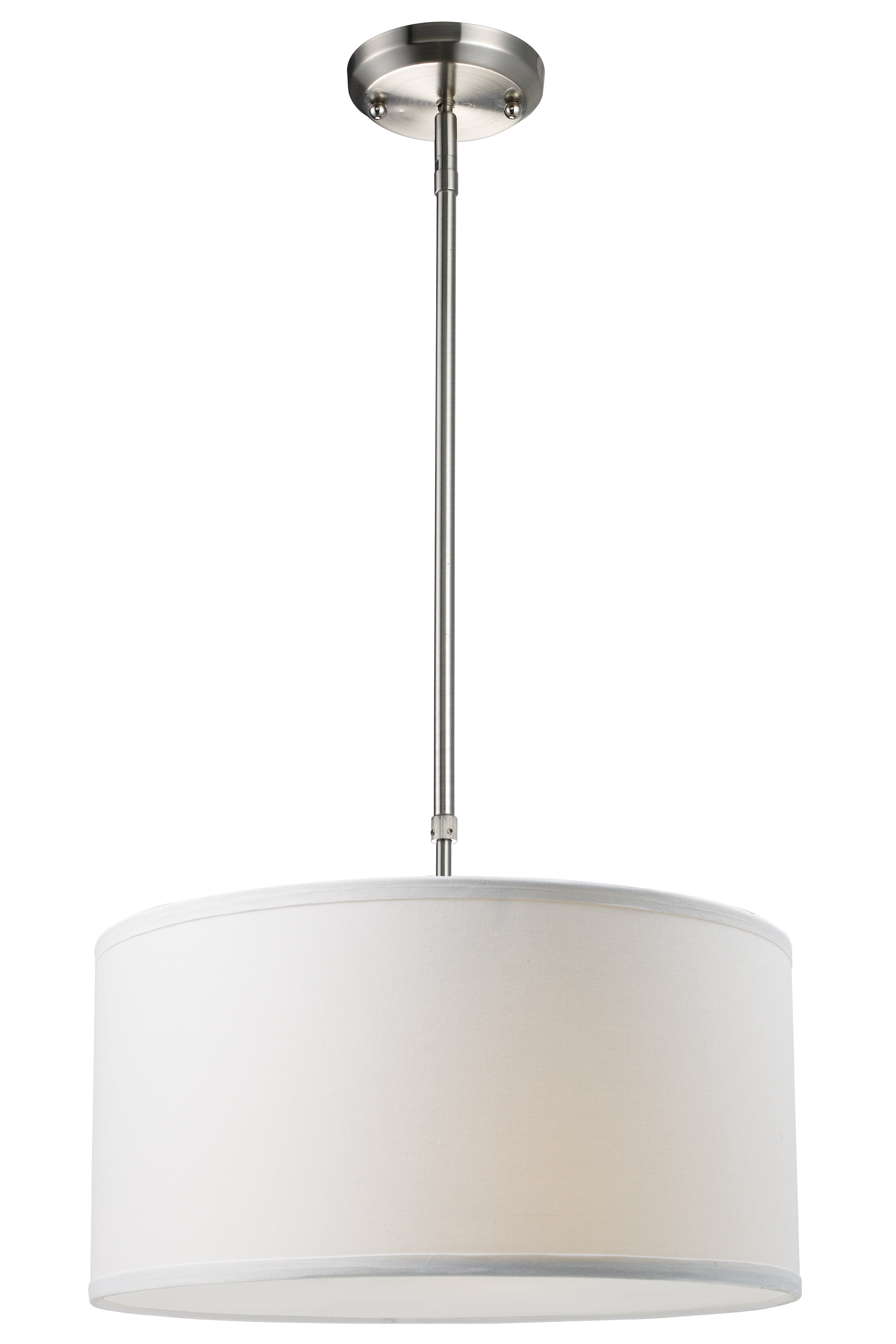 Kasey 3 Light Single Drum Pendant Pertaining To Friedland 3 Light Drum Tiered Pendants (View 7 of 30)