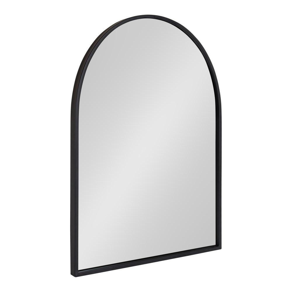 Kate And Laurel Valenti Arch Black Wall Mirror 214477 – The Within Arch Vertical Wall Mirrors (Gallery 6 of 30)