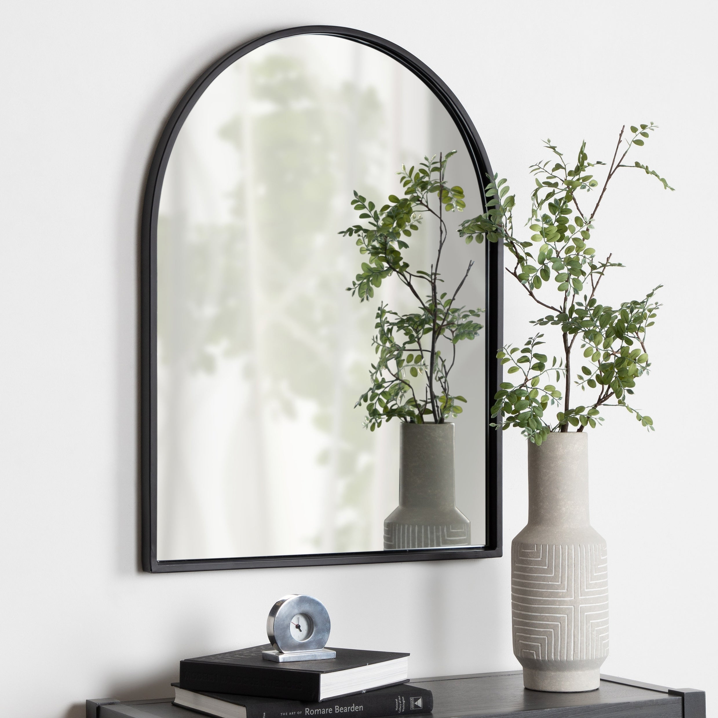Kate And Laurel Valenti Framed Arch Mirror   24X32 Pertaining To Arch Vertical Wall Mirrors (Photo 16 of 30)