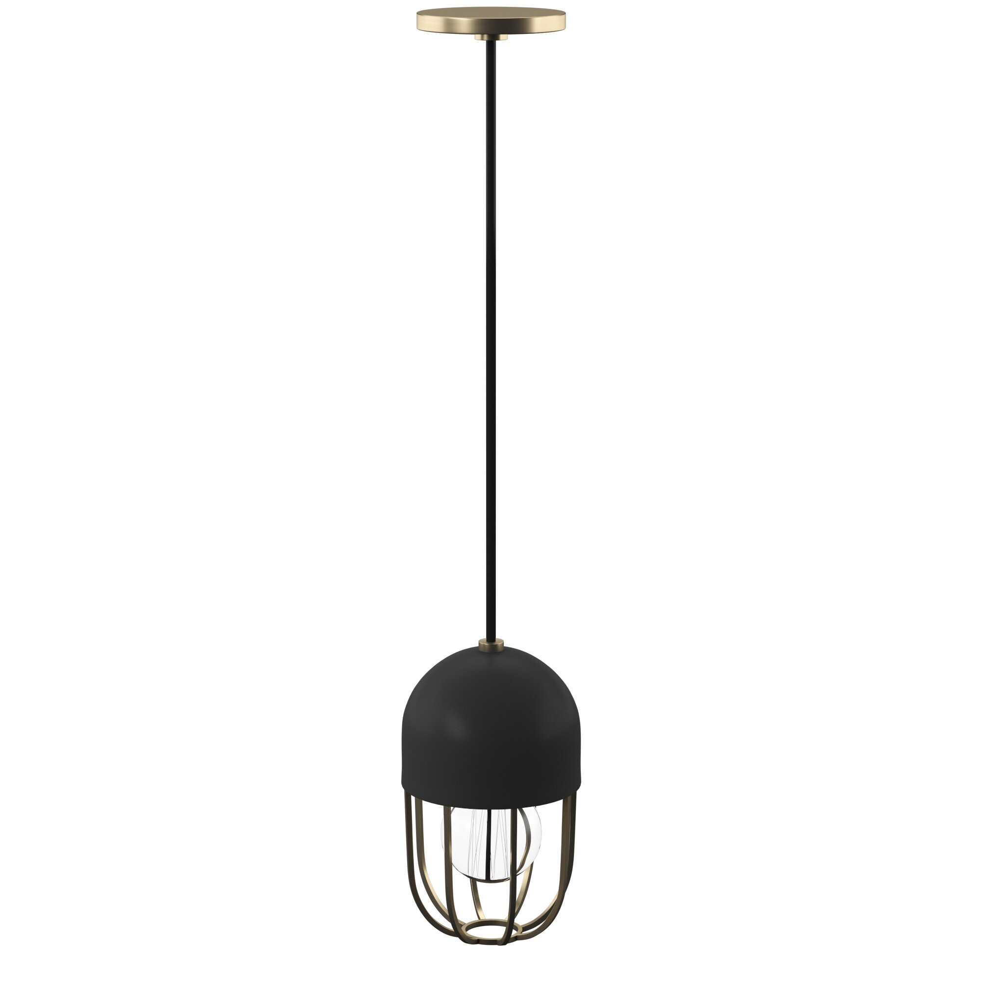 Kater 1 Light Single Dome Pendant Within Priston 1 Light Single Dome Pendants (View 15 of 30)