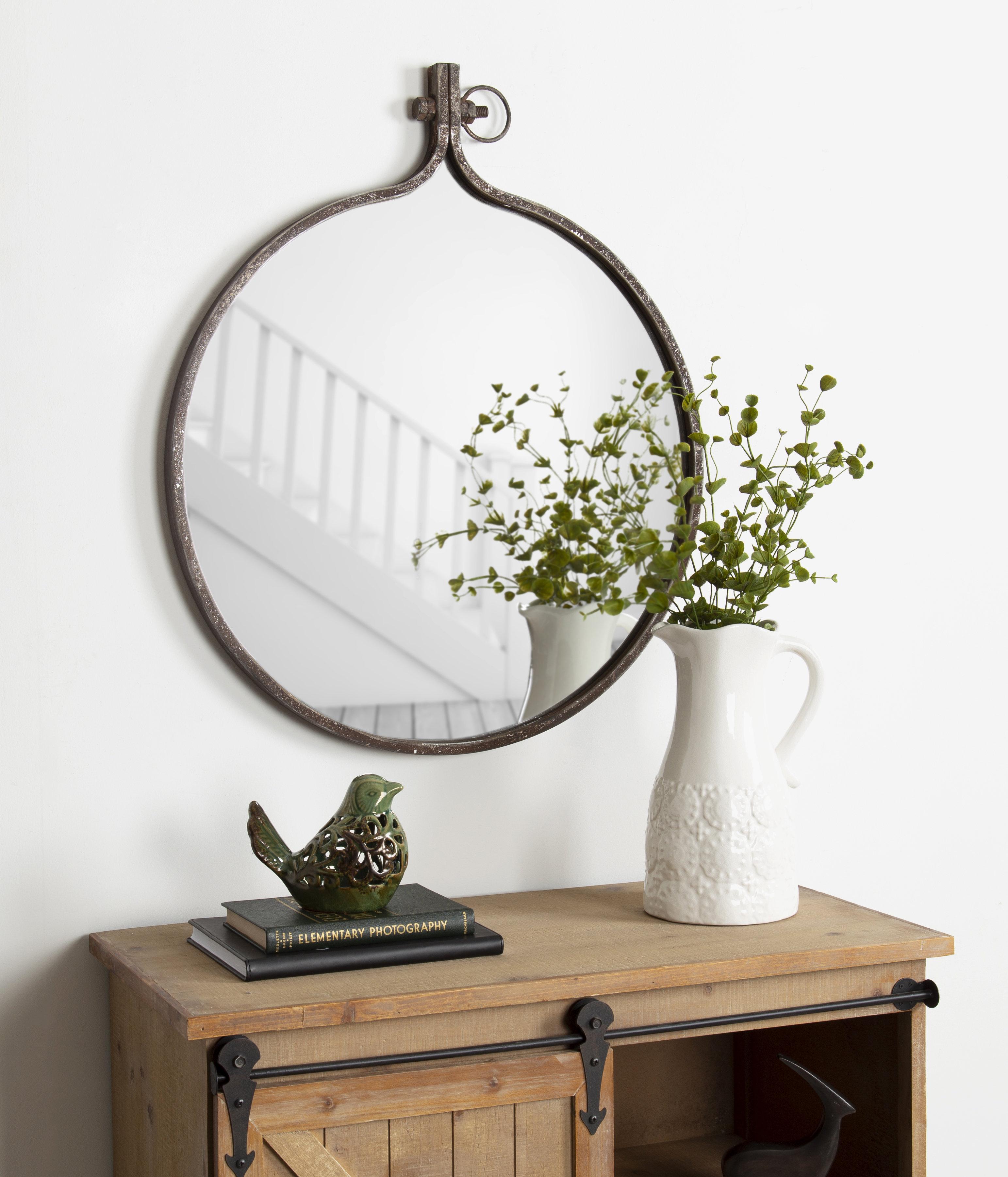 Kayden Accent Mirror | Wayfair With Regard To Kayden Accent Mirrors (View 19 of 30)