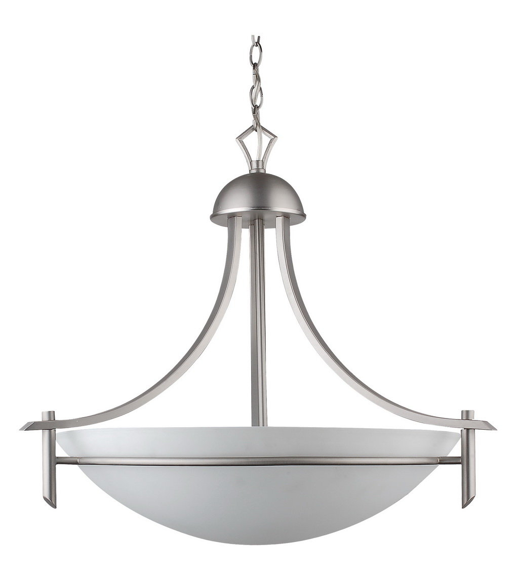 Kelsey 3 Light Bowl Pendant Pertaining To Newent 3 Light Single Bowl Pendants (Photo 8 of 30)