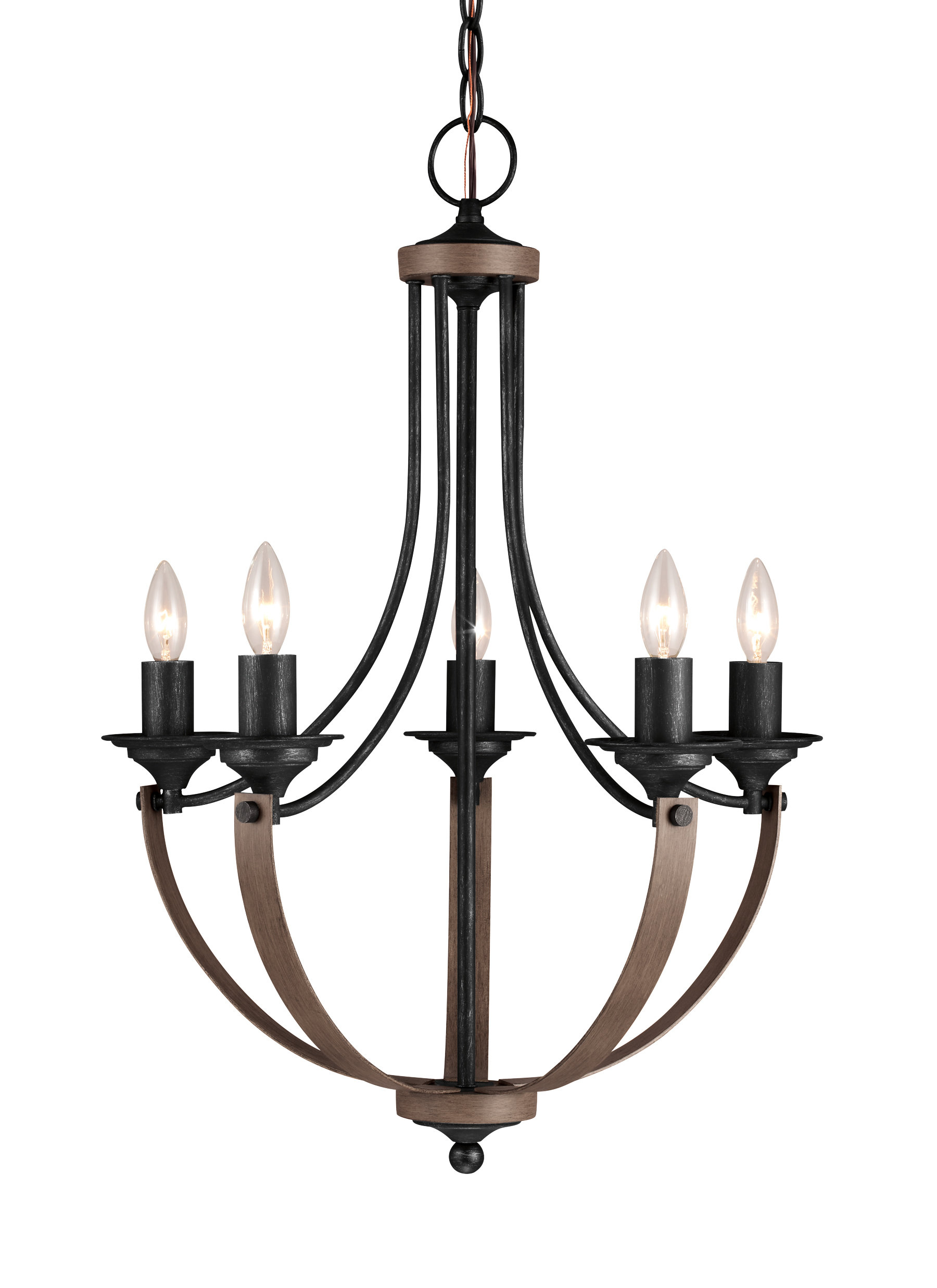 Kenna 5-Light Empire Chandelier with regard to Camilla 9-Light Candle Style Chandeliers (Image 15 of 30)