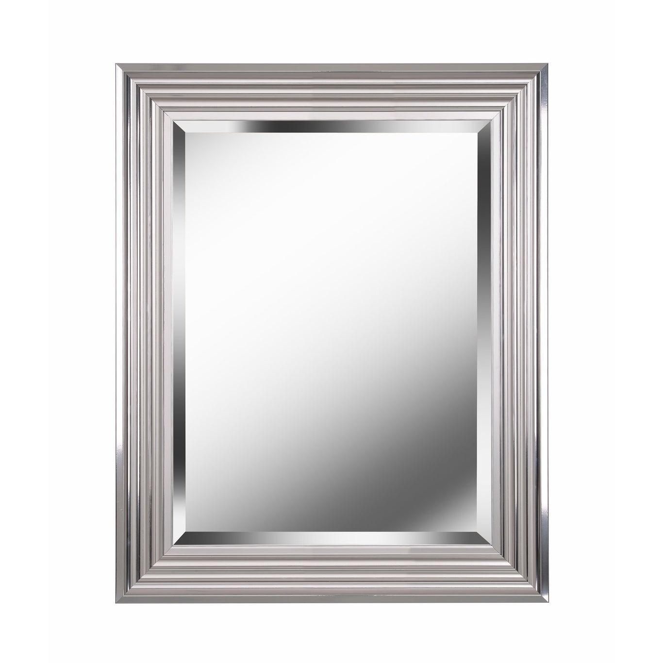 "Kenroy Home 60320 Lyonesse 30"" X 24"" Rectangular Beveled Accent Mirror For Traditional Beveled Accent Mirrors (Gallery 28 of 30)"