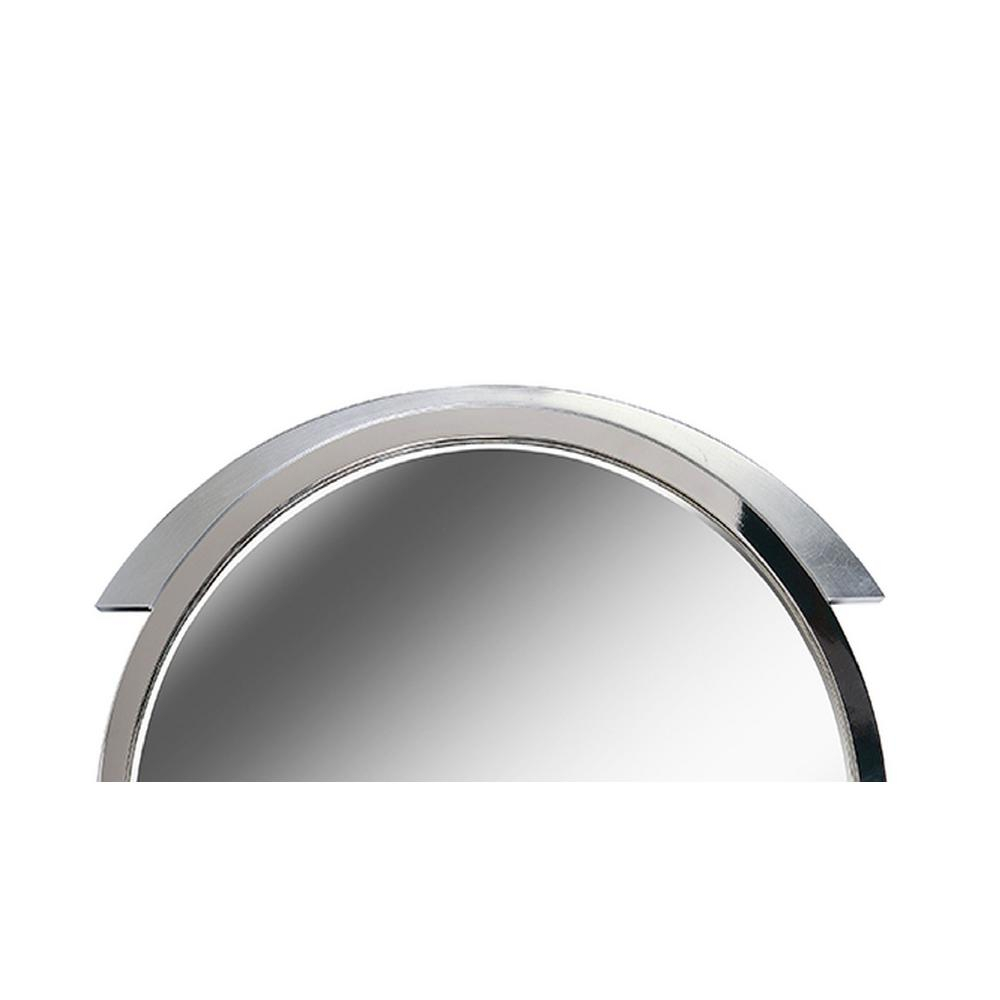 Kenroy Home Maiar Round Steel Vanity Wall Mirror 60234   The With Regard To Swagger Accent Wall Mirrors (Photo 27 of 30)