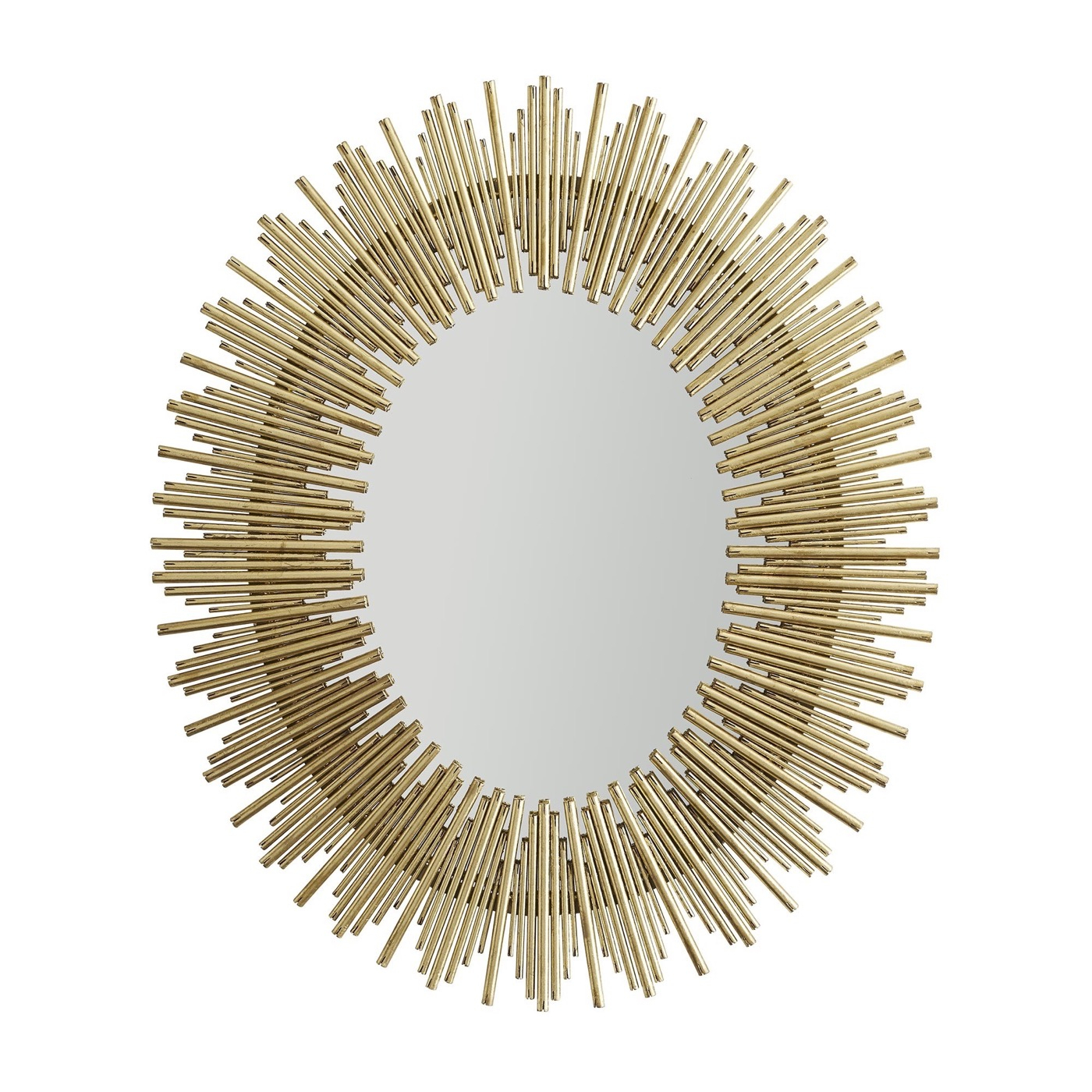 Kentwood Oval Wall Mirror | Gold With Regard To Kentwood Round Wall Mirrors (Photo 14 of 30)