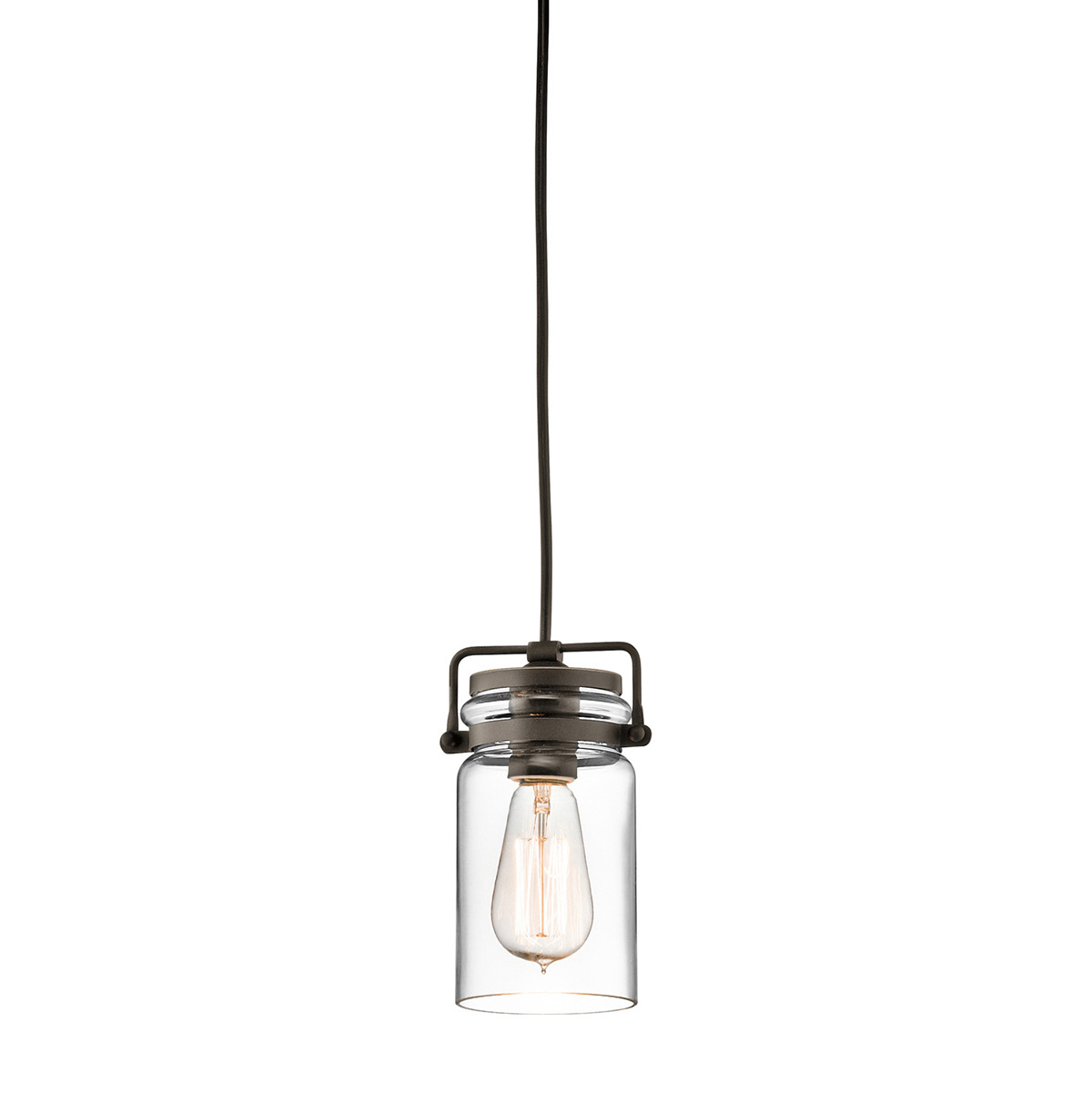 Kichler Lighting 42878oz Pendant Light Fixtures – Crescent Electric Supply Company With Erico 1 Light Single Bell Pendants (View 23 of 30)